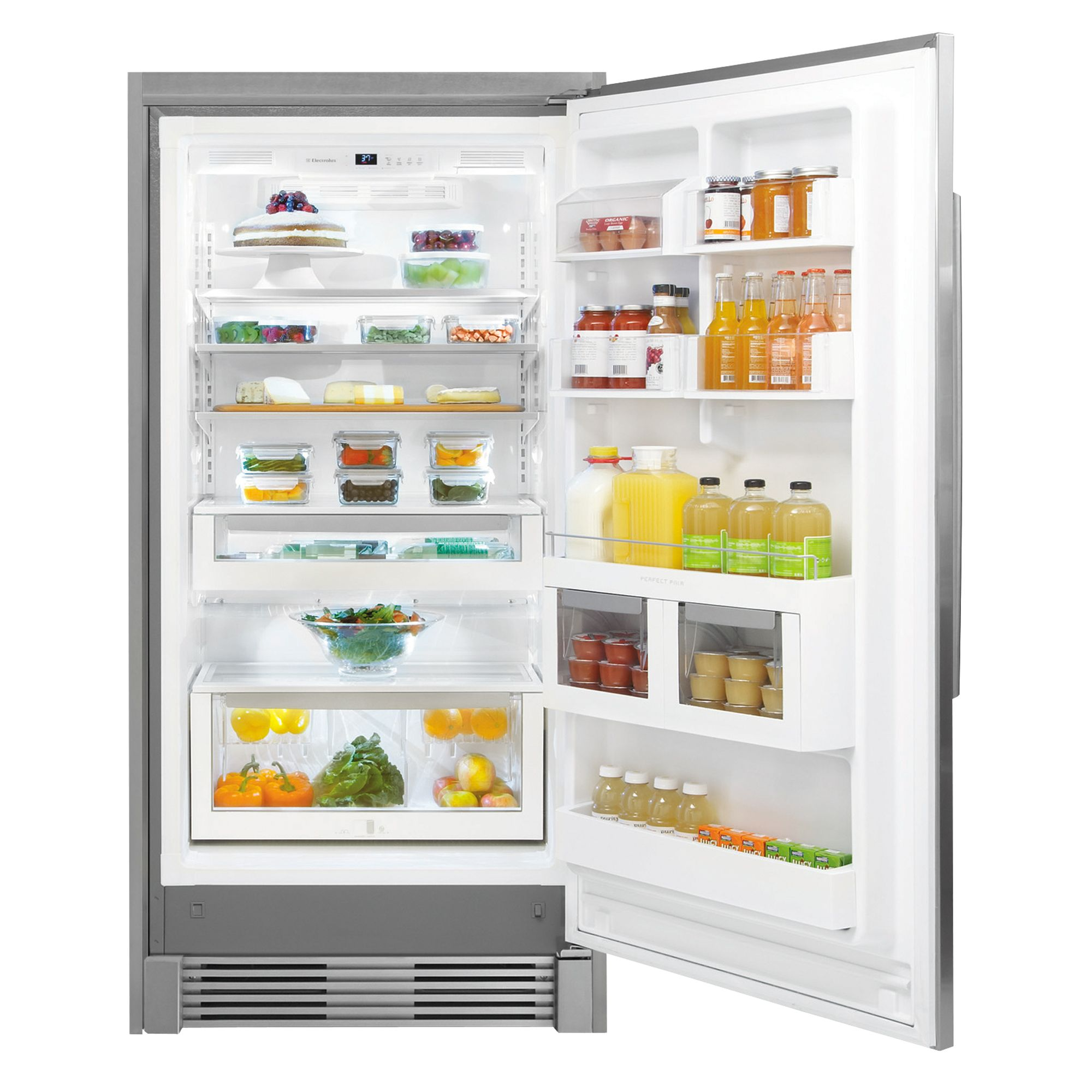 Electrolux 19.0 cu. ft. Built-In All Refrigerator - Stainless Steel