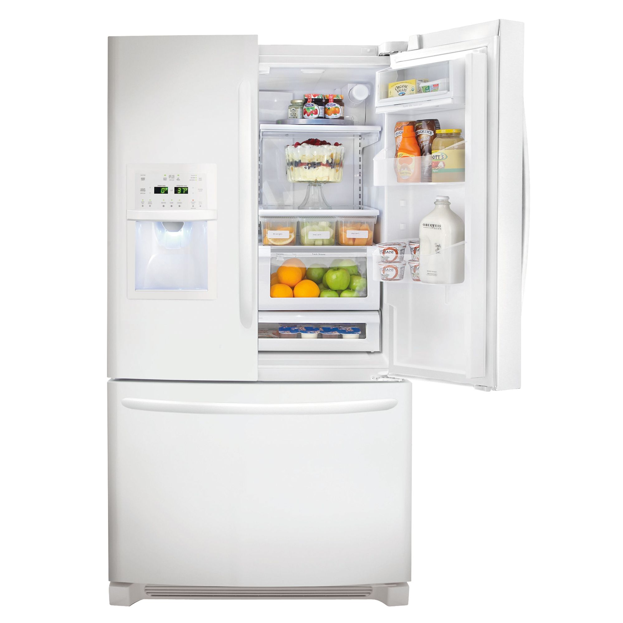 Frigidaire 25.8 cu. ft. French-Door Bottom-Freezer Refrigerator (FGUB2642L)