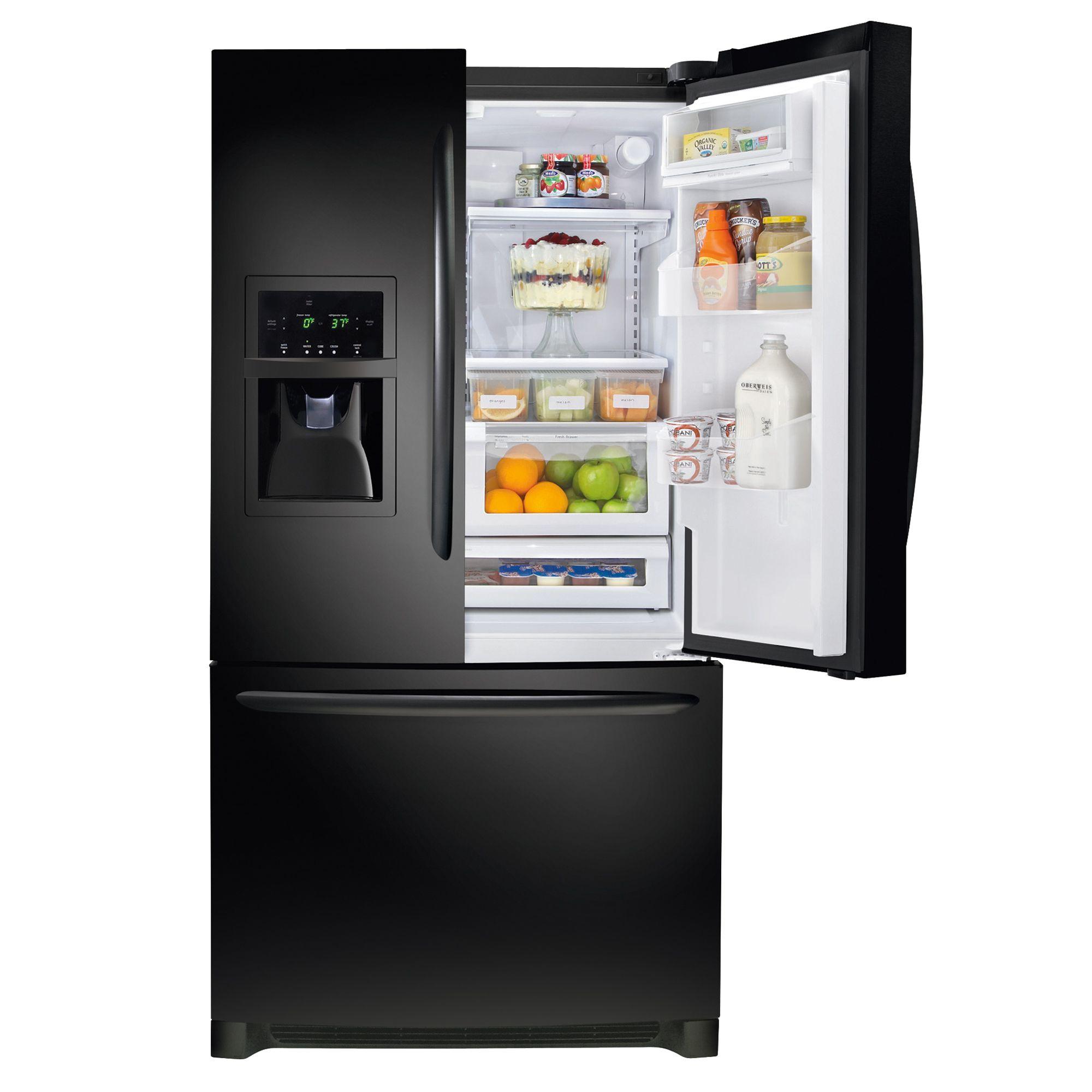 Frigidaire Gallery 25.8 cu. ft. French-Door Refrigerator - Ebony Black