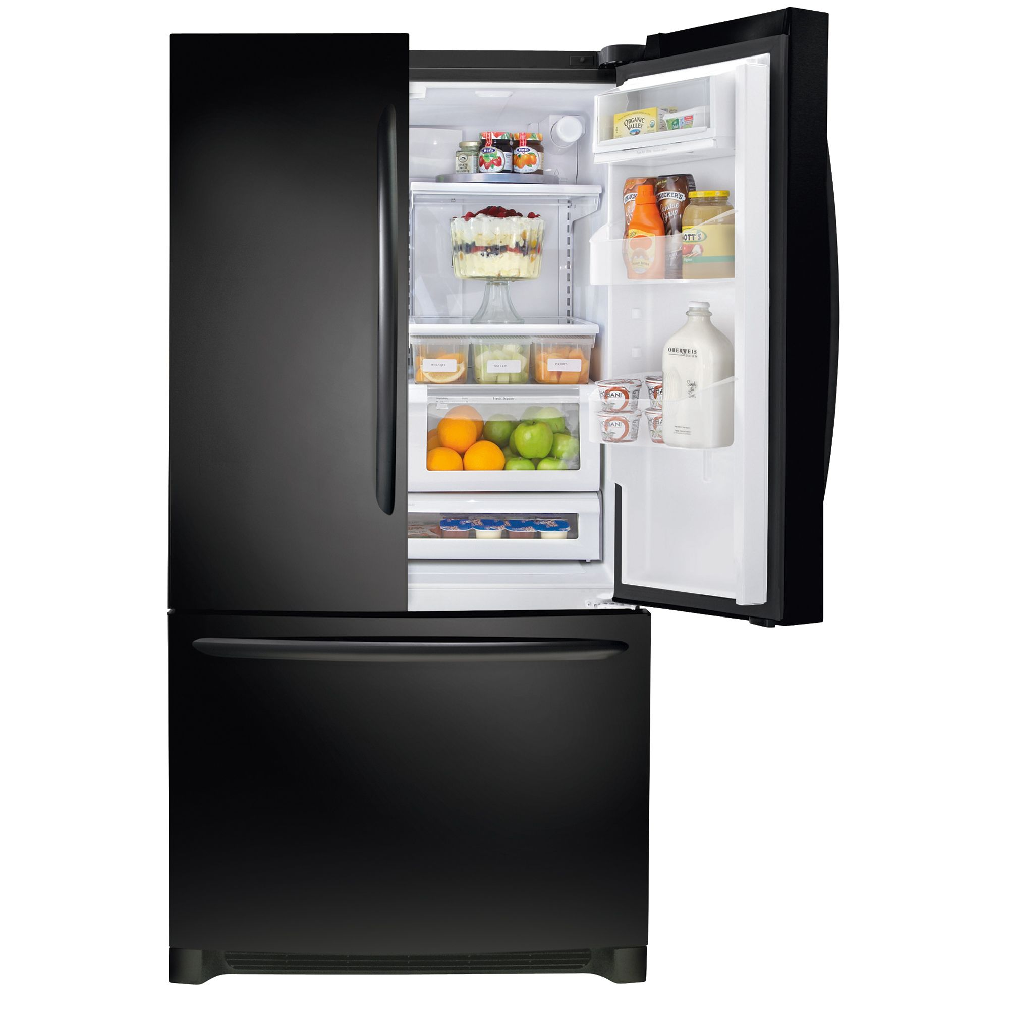 Frigidaire Gallery 25.8 cu. ft. French-Door Refrigerator - Ebony Black