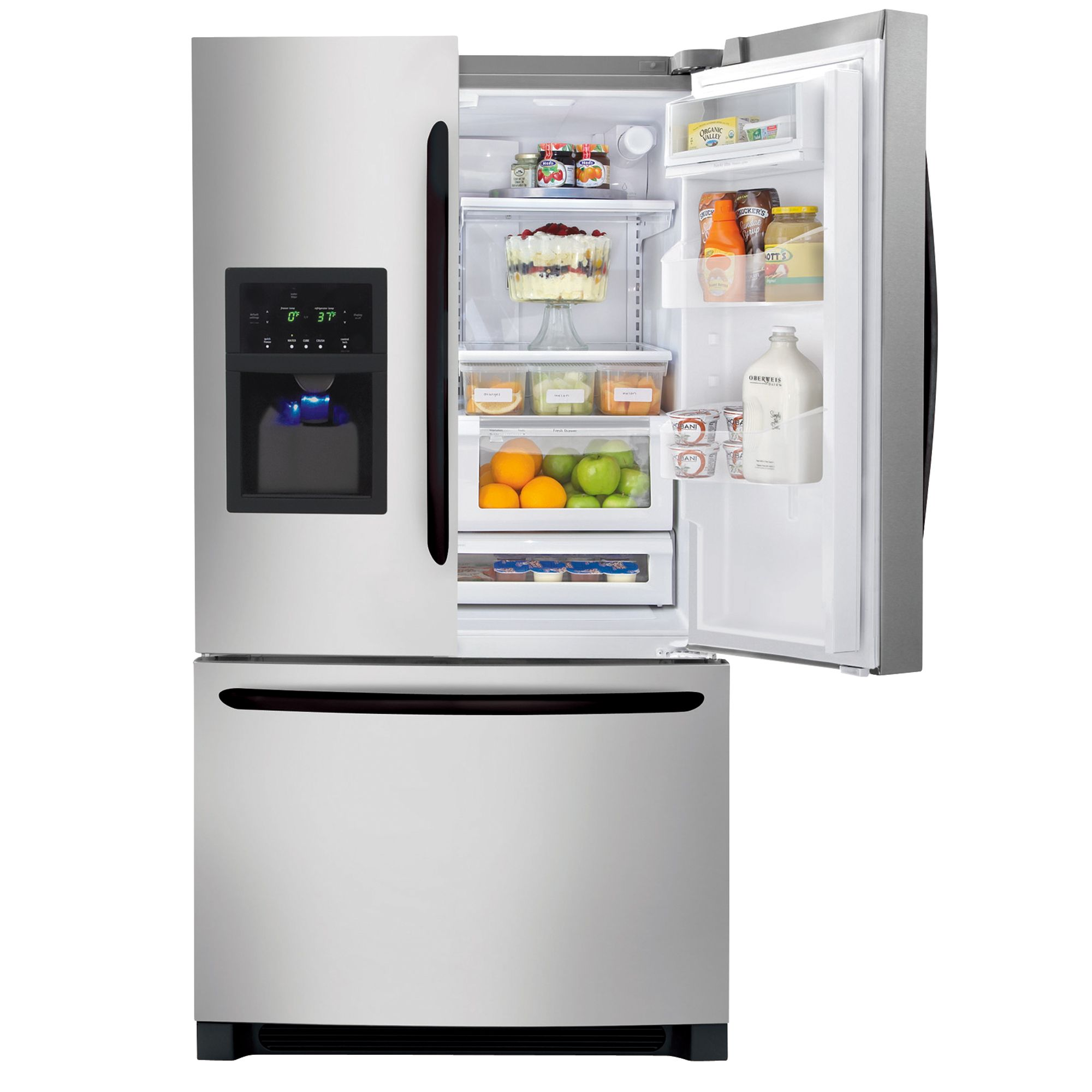 Frigidaire 27.8 cu. ft. French-Door Bottom-Freezer Refrigerator (FGHB2844L)