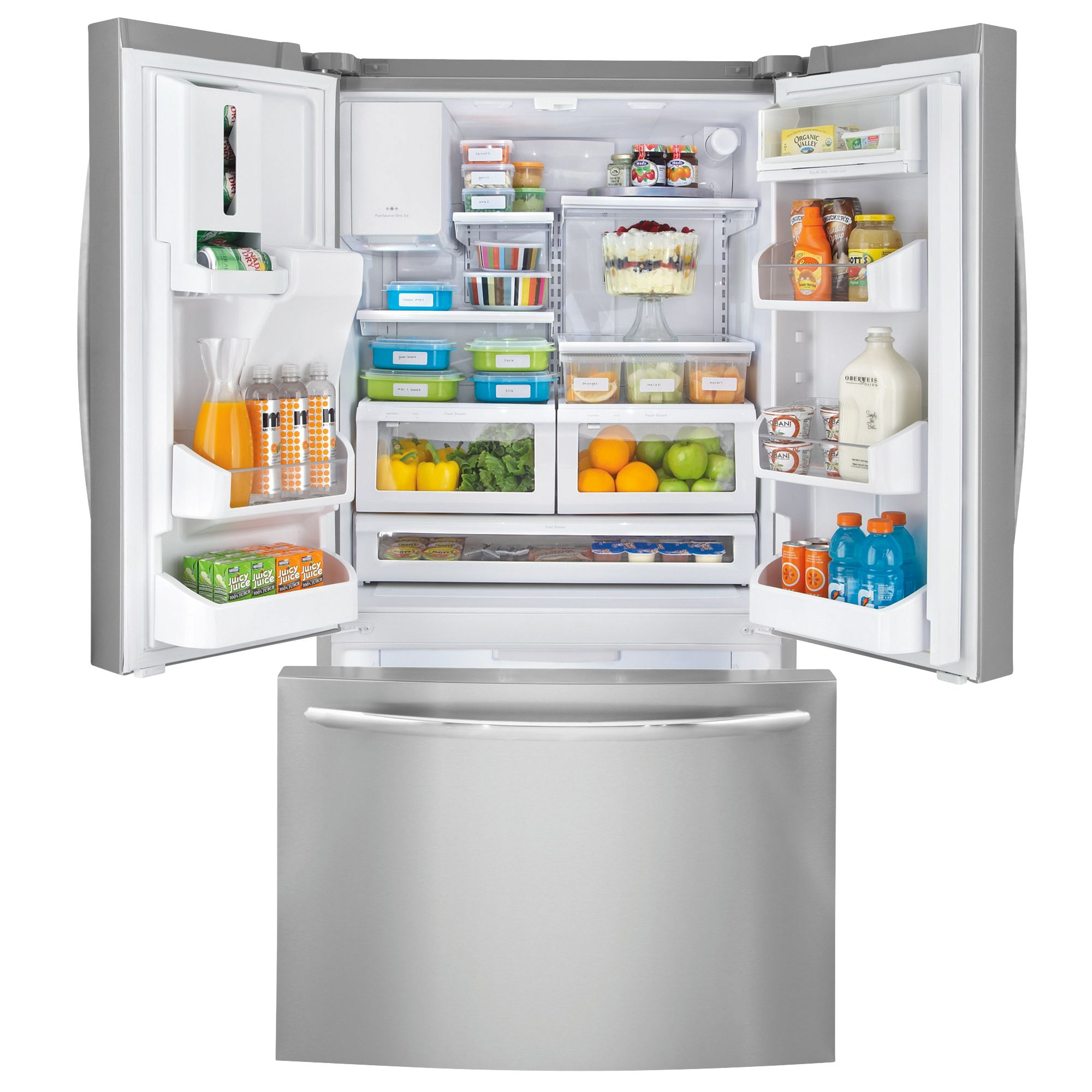 Frigidaire 27.8 cu. ft. French-Door Bottom-Freezer Refrigerator (FGHB2869L)