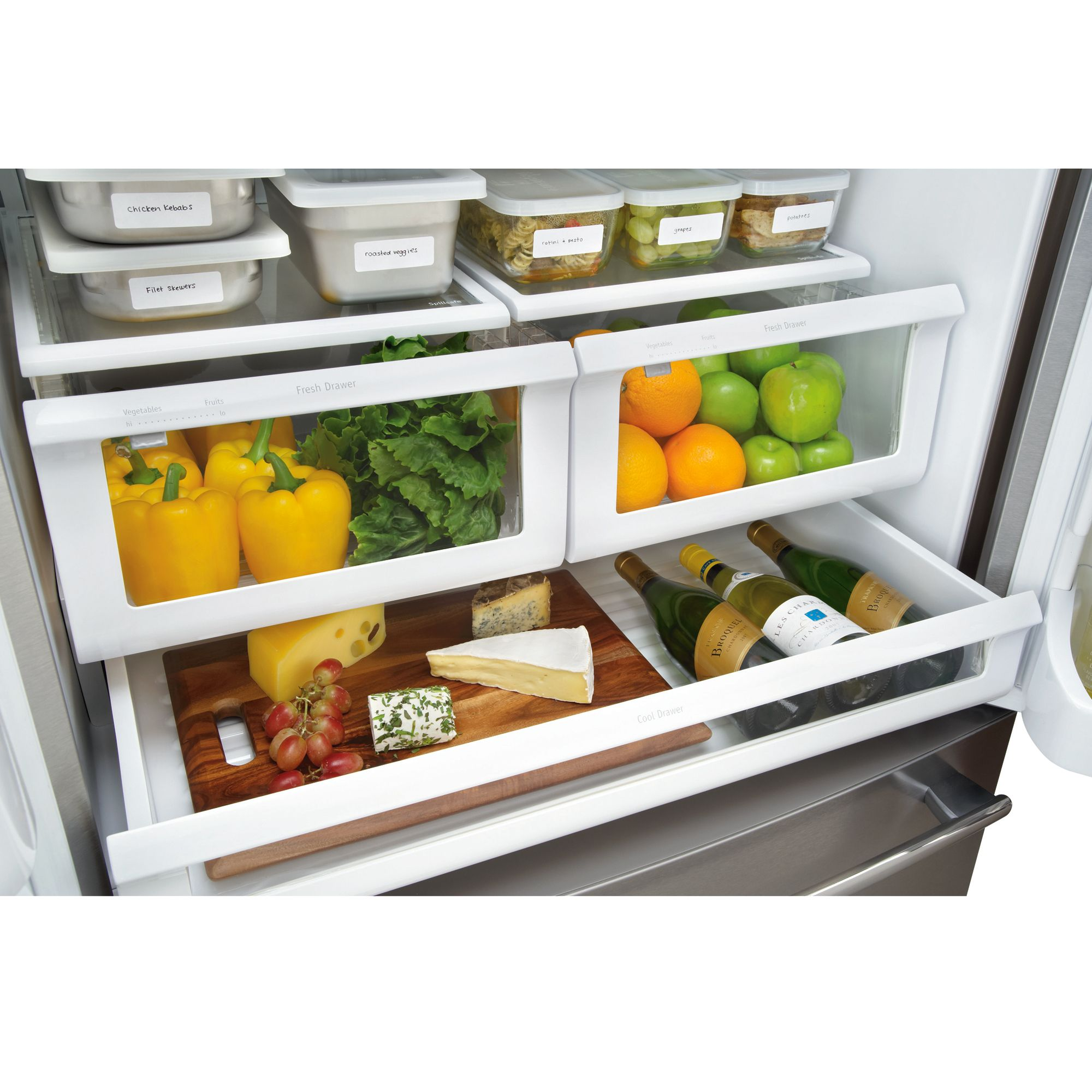Frigidaire 27.8 cu. ft. French-Door Bottom-Freezer Refrigerator (FPHB2899)