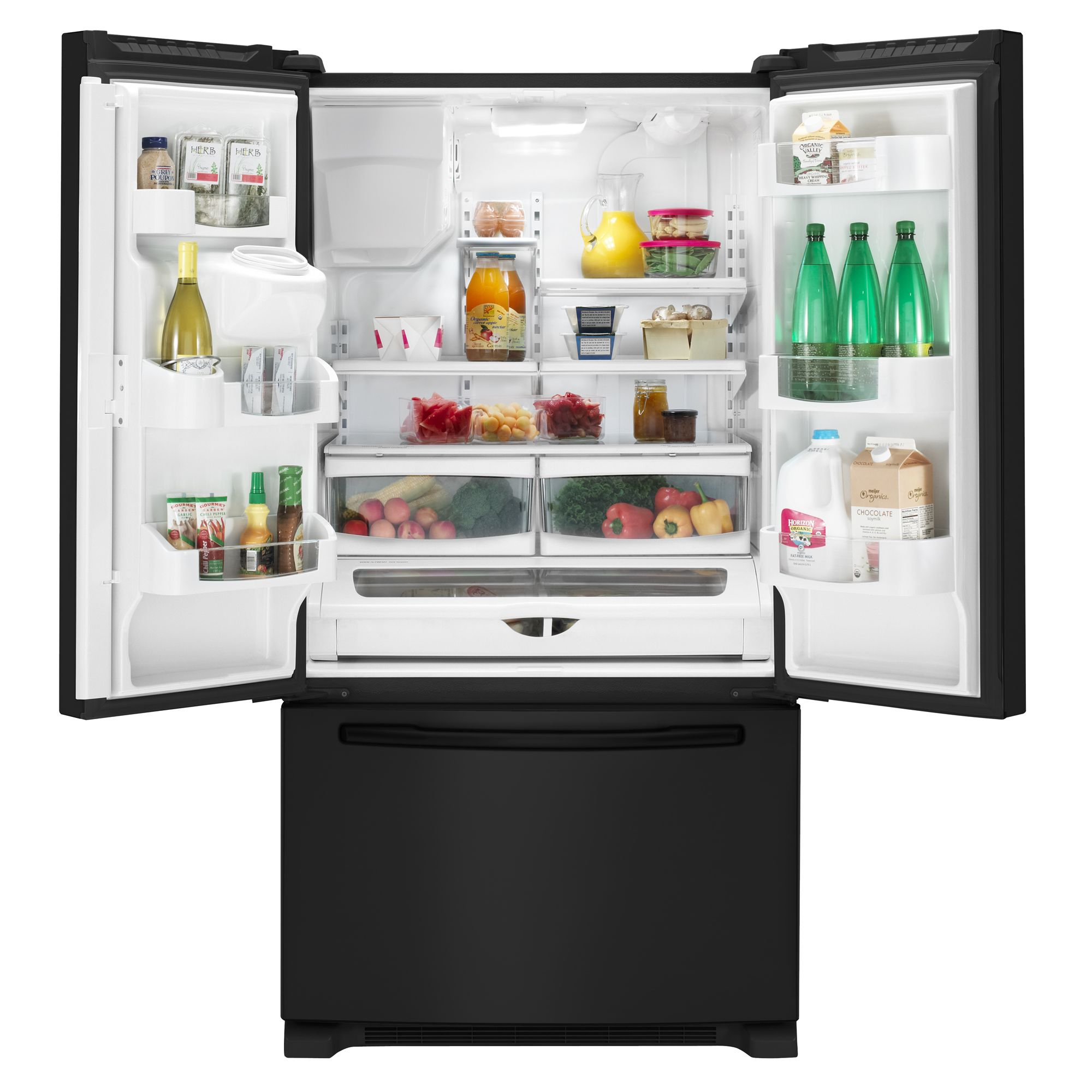 Maytag MFI2670XEB 25.5 cu. ft. French Door Bottom Freezer Refrigerator w/ Dispenser