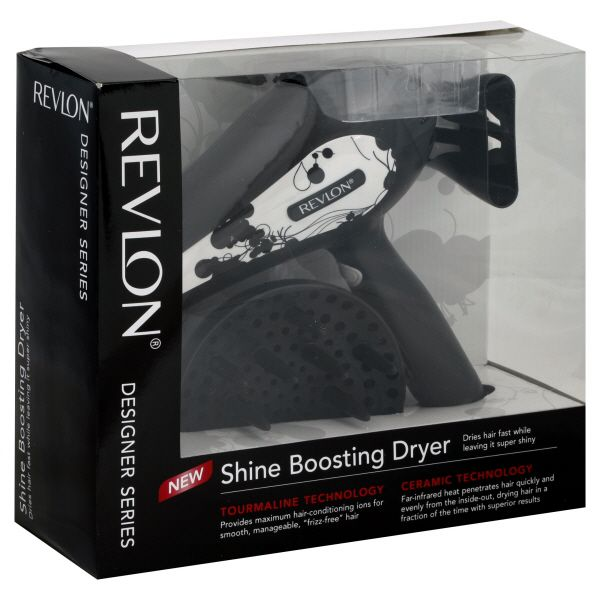 Revlon Designer Series Dryer, Shine Boosting, 1 dryer
