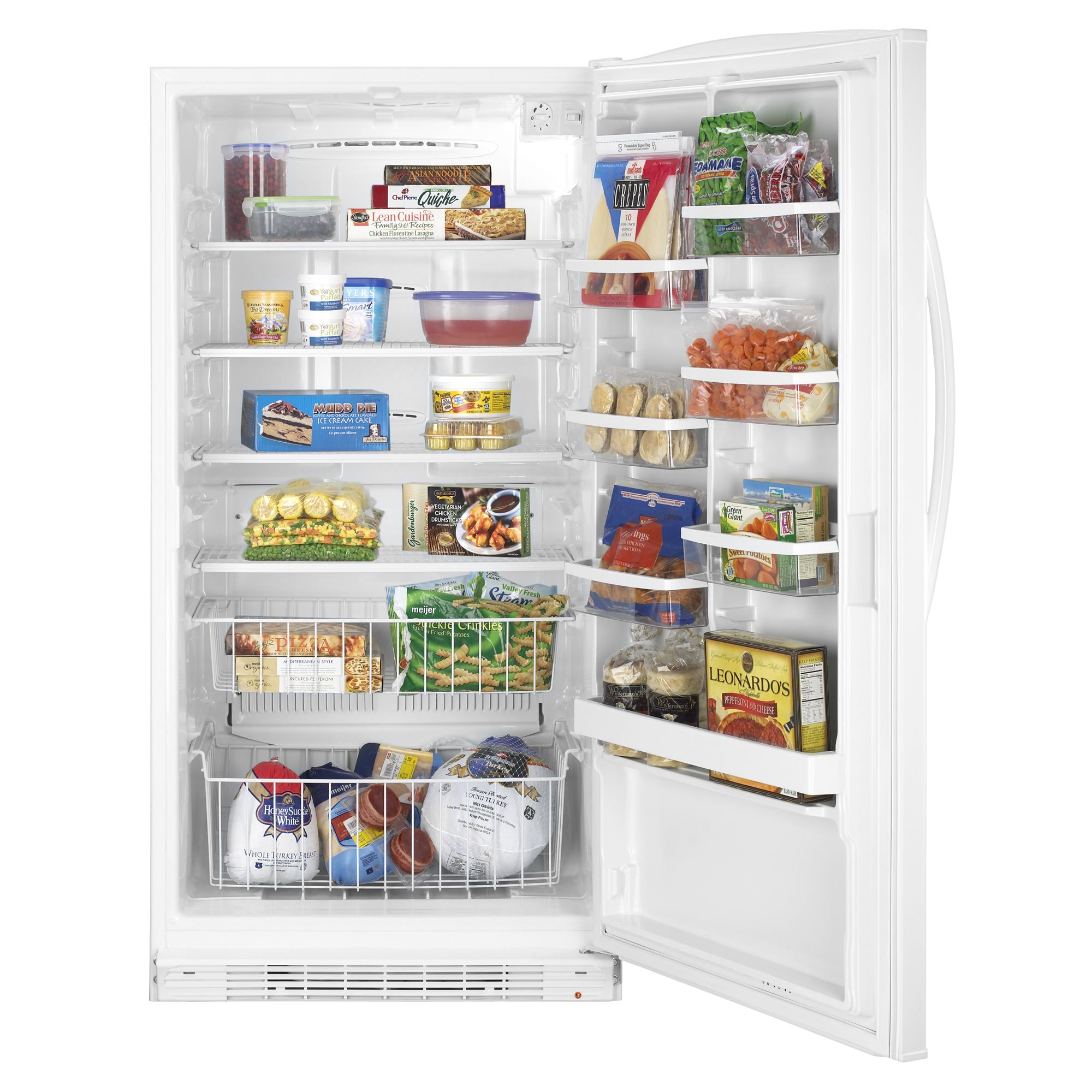 Whirlpool 20.1 cu. ft. Upright Freezer - White