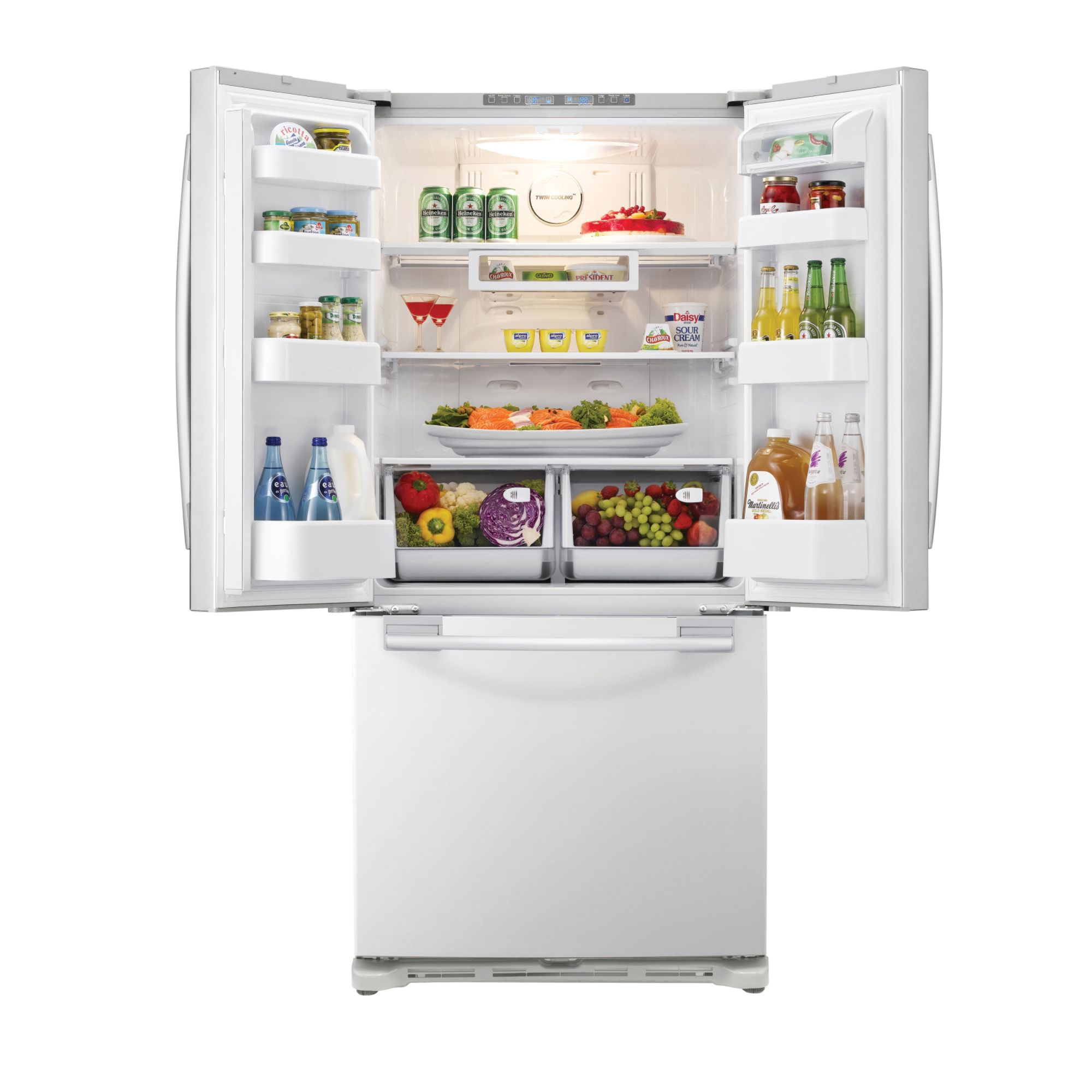 Samsung 18.0 cu. ft. Bottom-Freezer Refrigerator