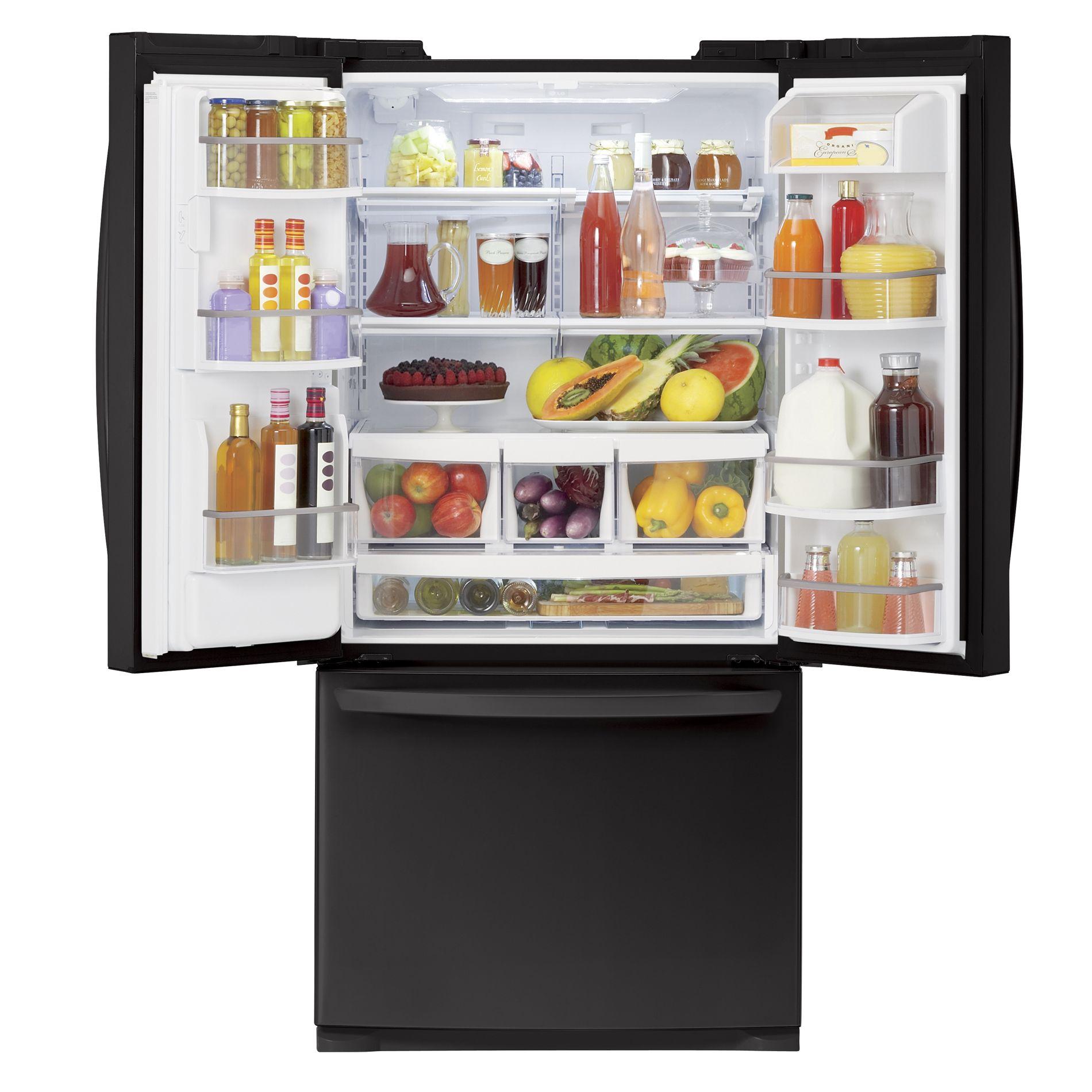 LG 25.0 cu. ft.  French Door Bottom-Freezer Refrigerator