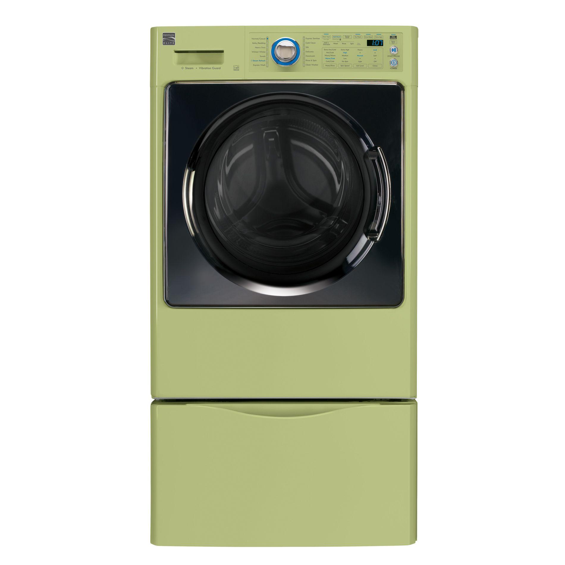 Kenmore Elite 4.3 cu. ft. Steam Washer w/ Reversible Door