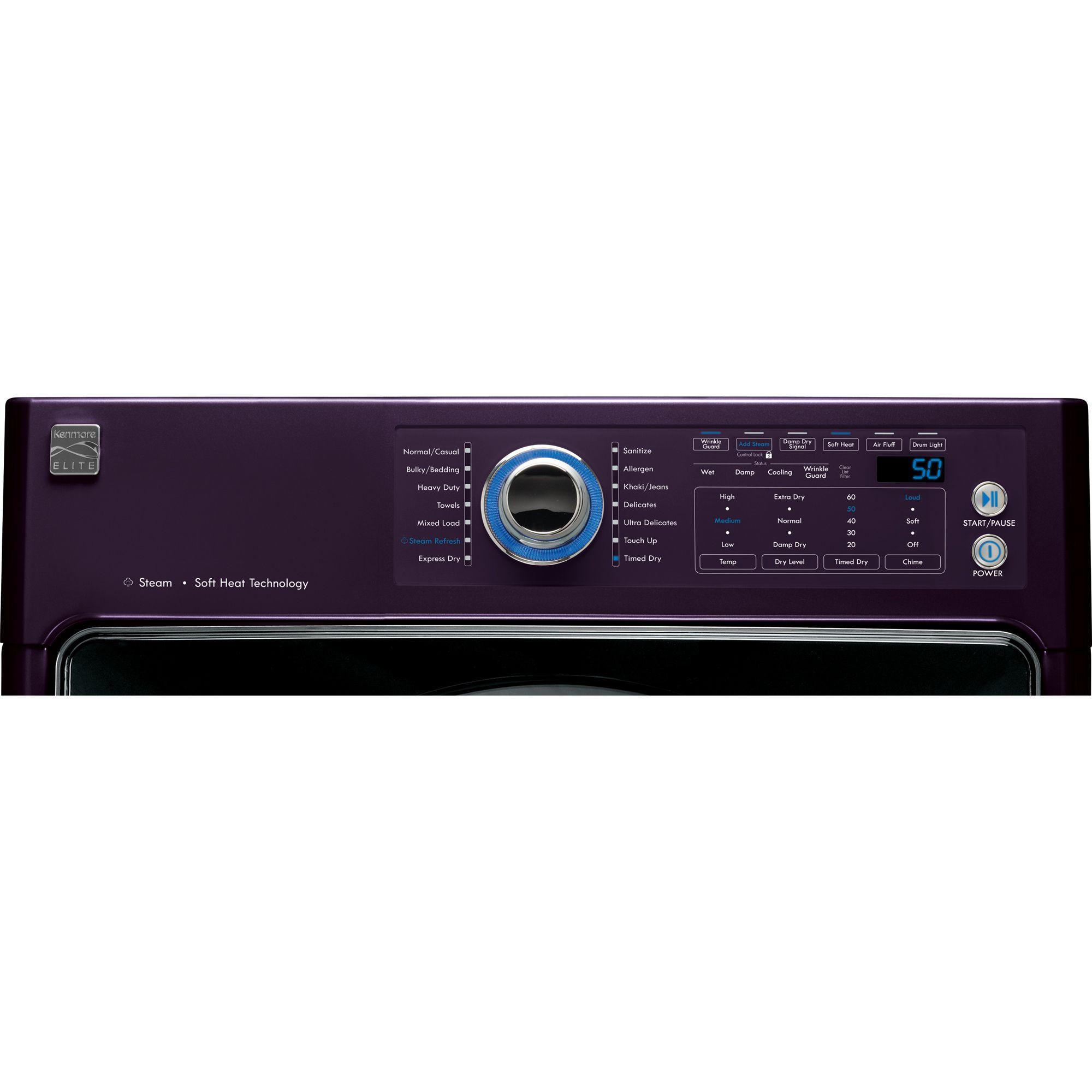 Kenmore Elite 8.0 cu. ft. Steam Electric Dryer