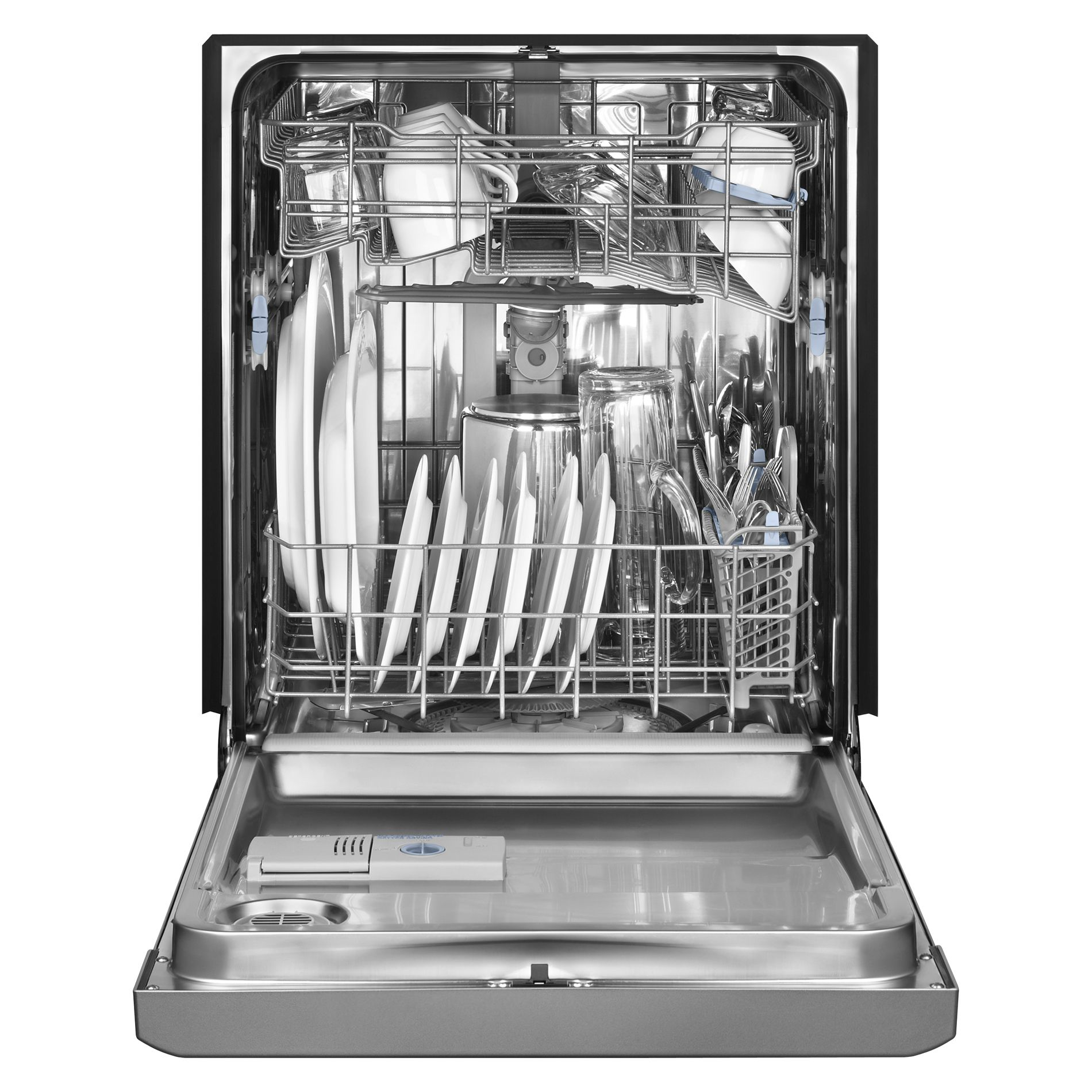 Maytag 24 in. JetClean® Plus Built-In Dishwasher w/ SteamClean - Stainless Steel