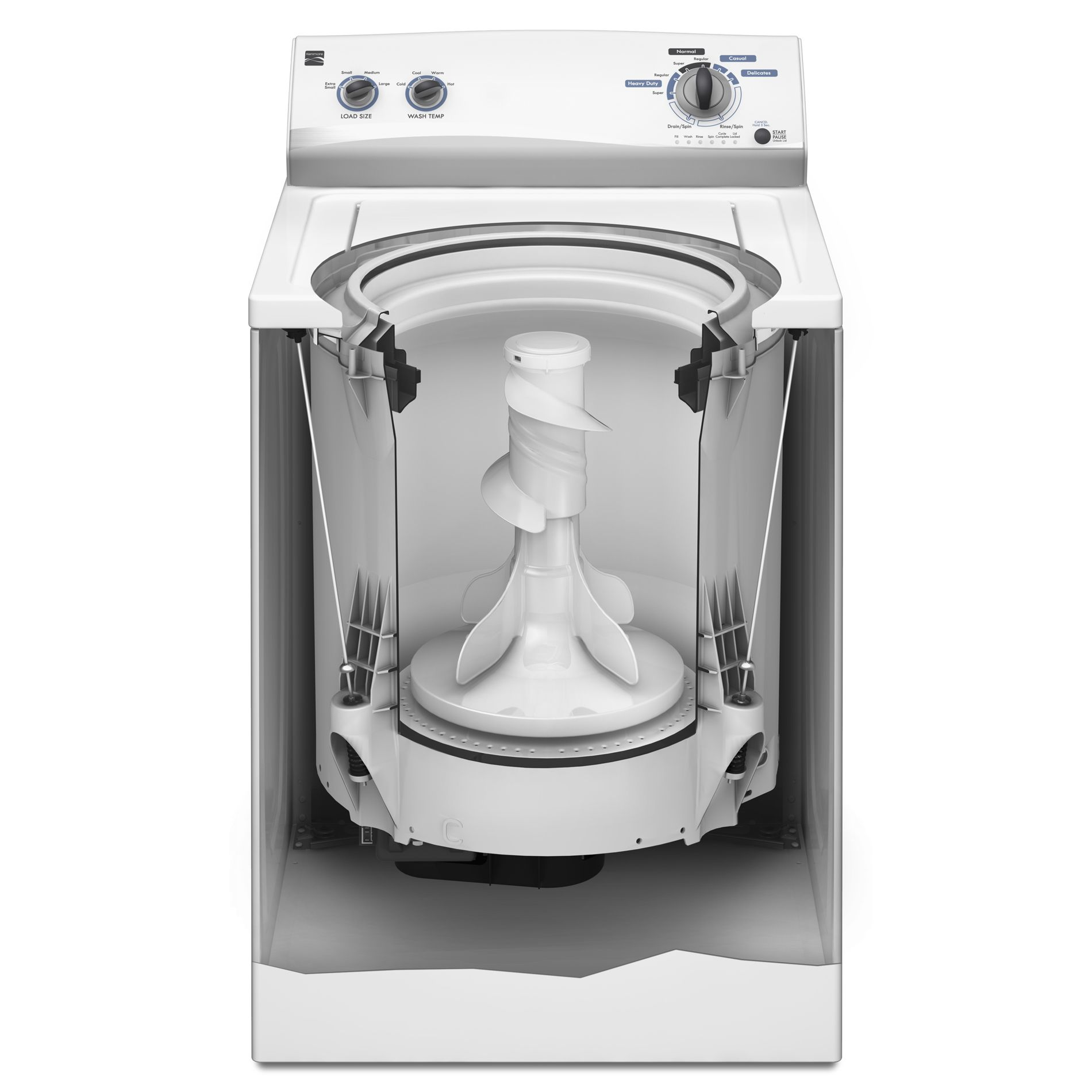 Kenmore 3.4 cu. ft. Top-Load Washing Machine - White