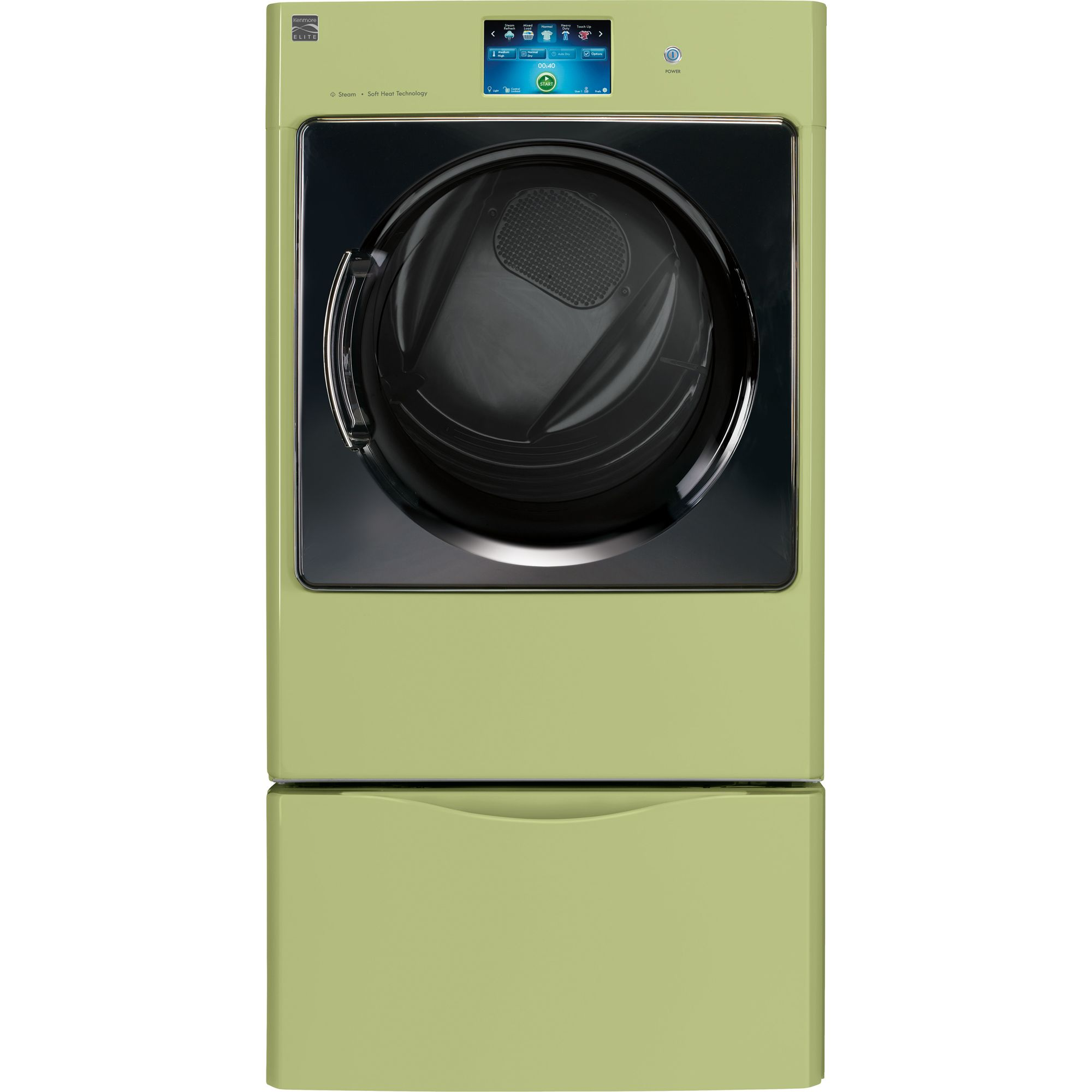 Kenmore Elite Gas Dryer Front Load Steam 8.0 Cu. Ft.