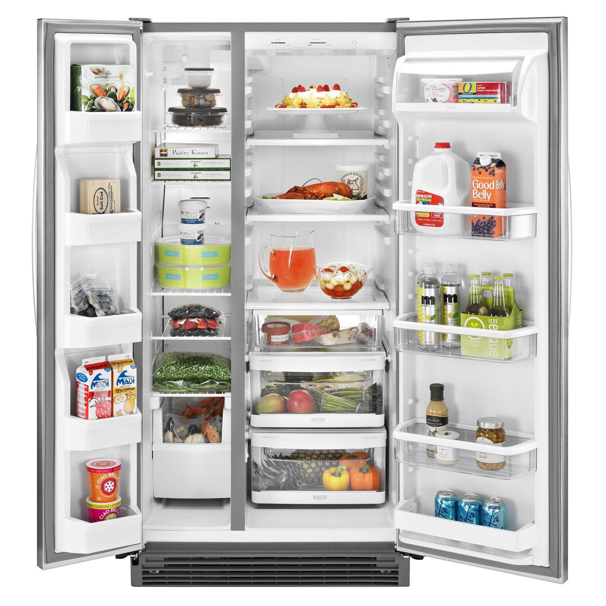 KitchenAid 21.5 cu. ft. Non-Dispensing Side-by-Side Refrigerator