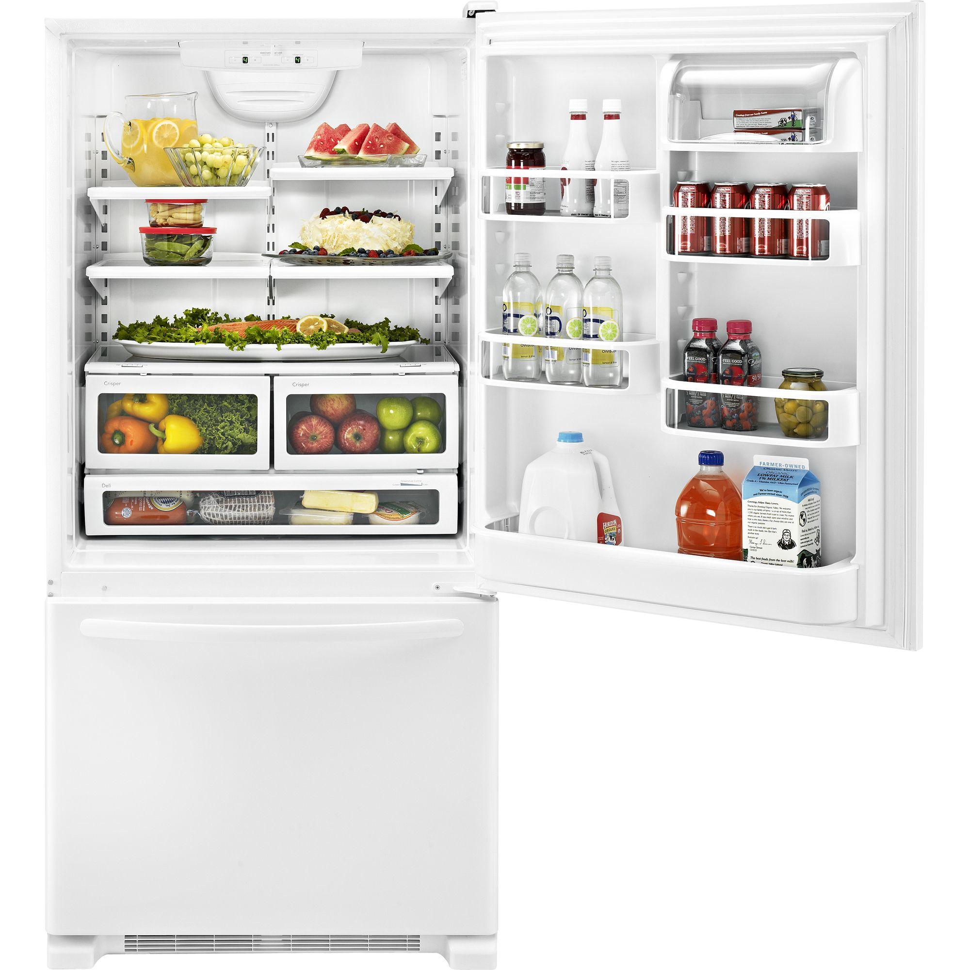 KitchenAid 21.9 cu. ft. Single-Door Bottom-Freezer Refrigerator