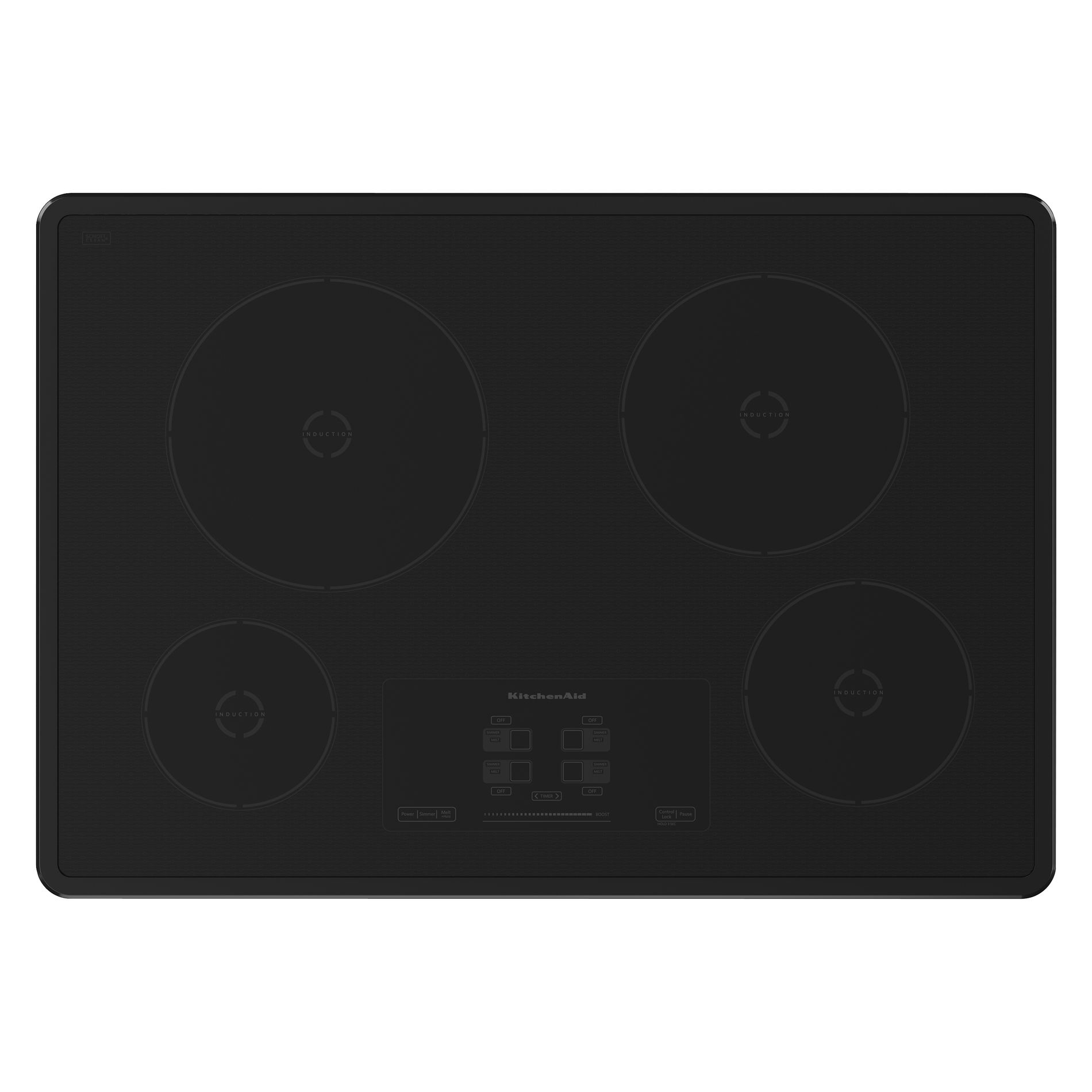 KitchenAid KICU500XBL 30 Electric Induction Cooktop