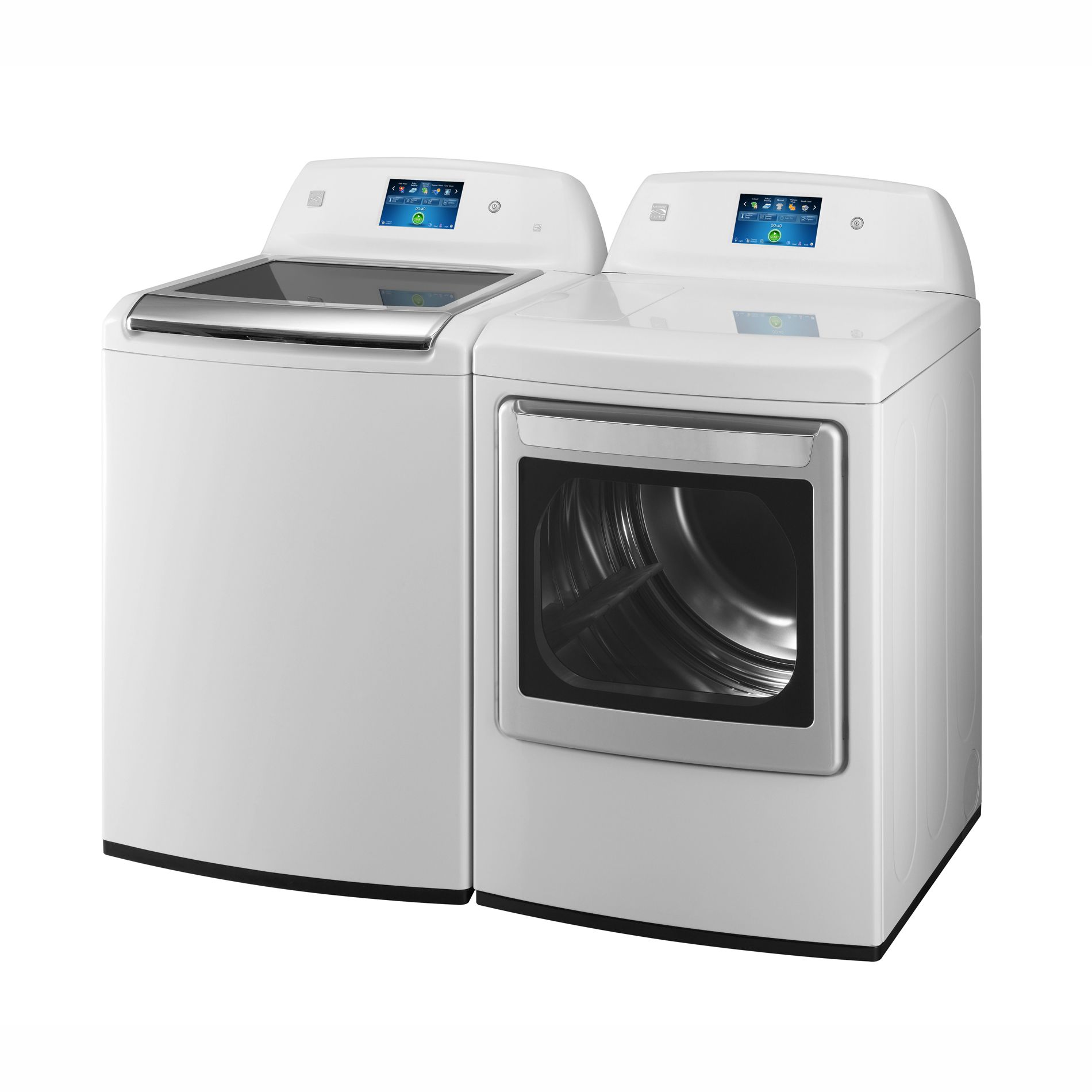Kenmore Elite 7.3 cu. ft. Electric Steam Dryer w/ LCD ColorTouch Display - White