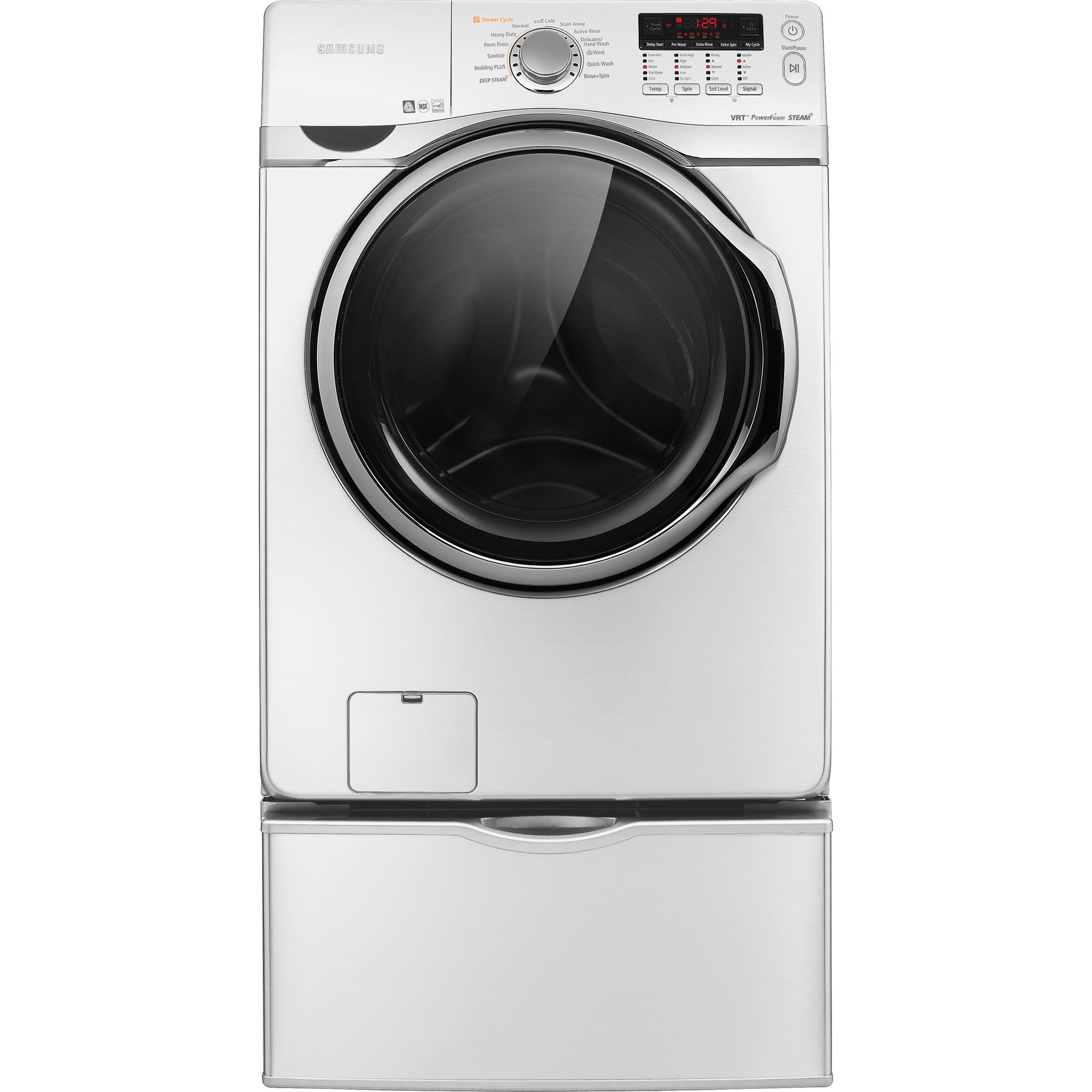 Samsung 3.9 cu. ft. Steam Front-Load Washer