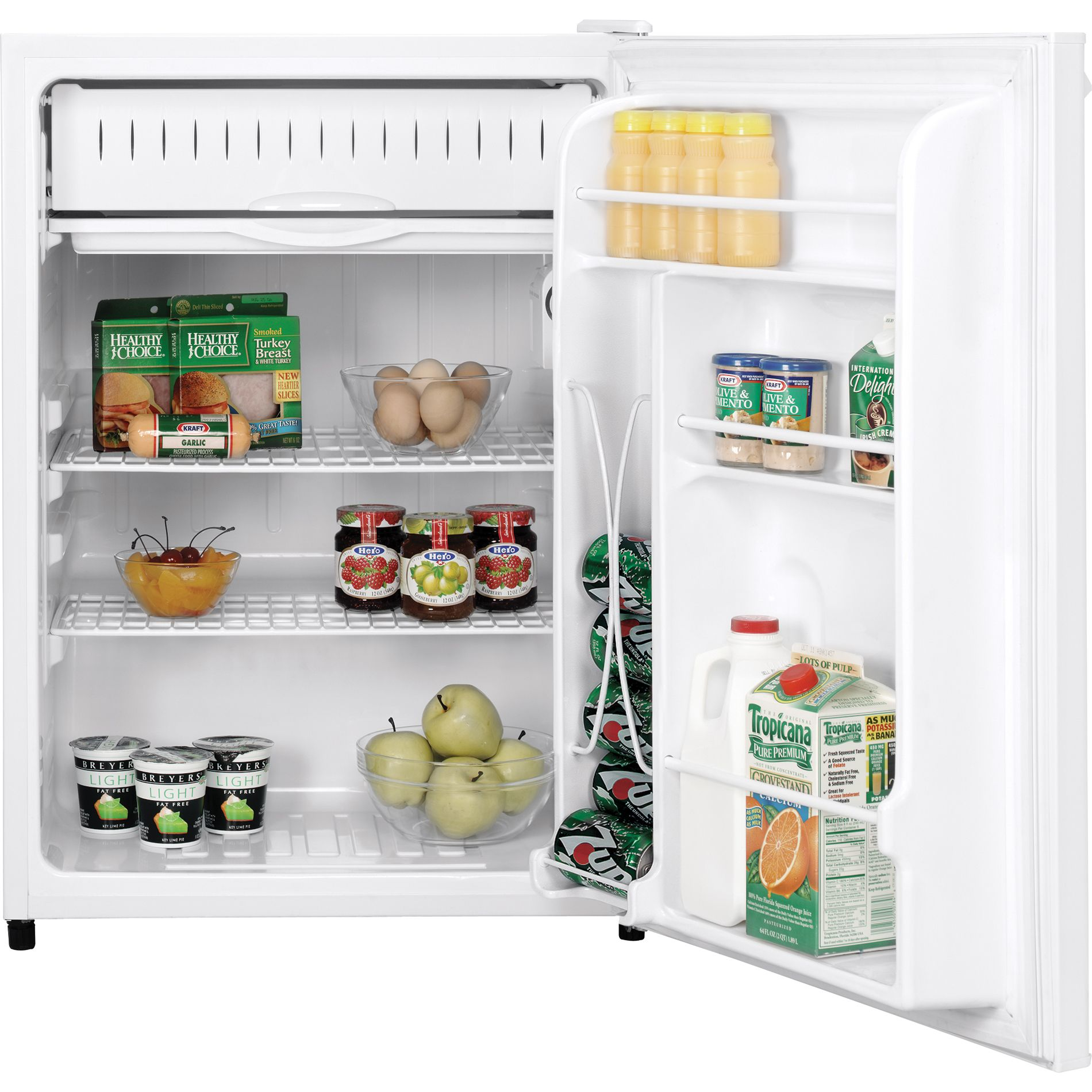 GE 6.0 cu. ft. Compact Refrigerator - White