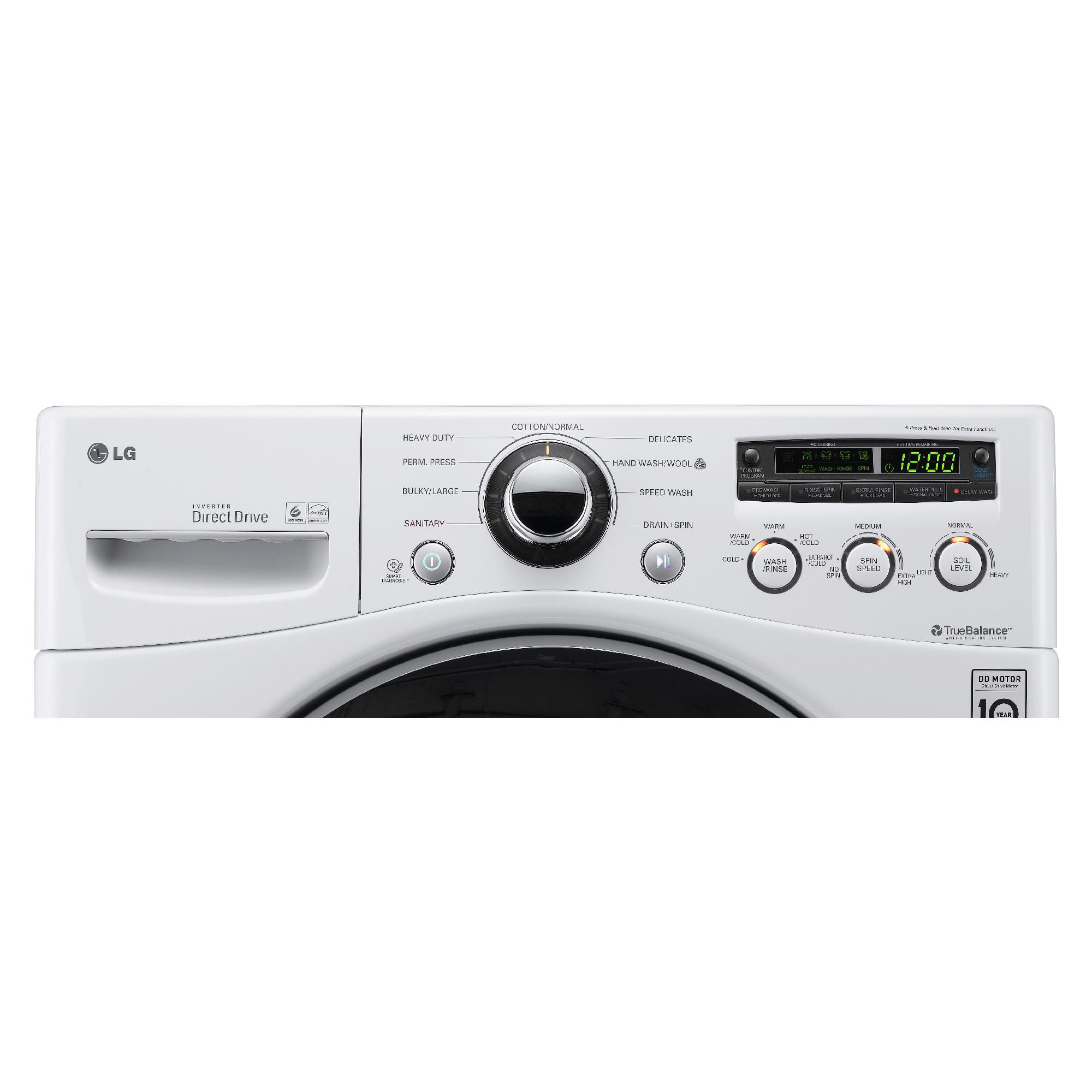 LG 3.7 cu. ft. Front-Load Washer