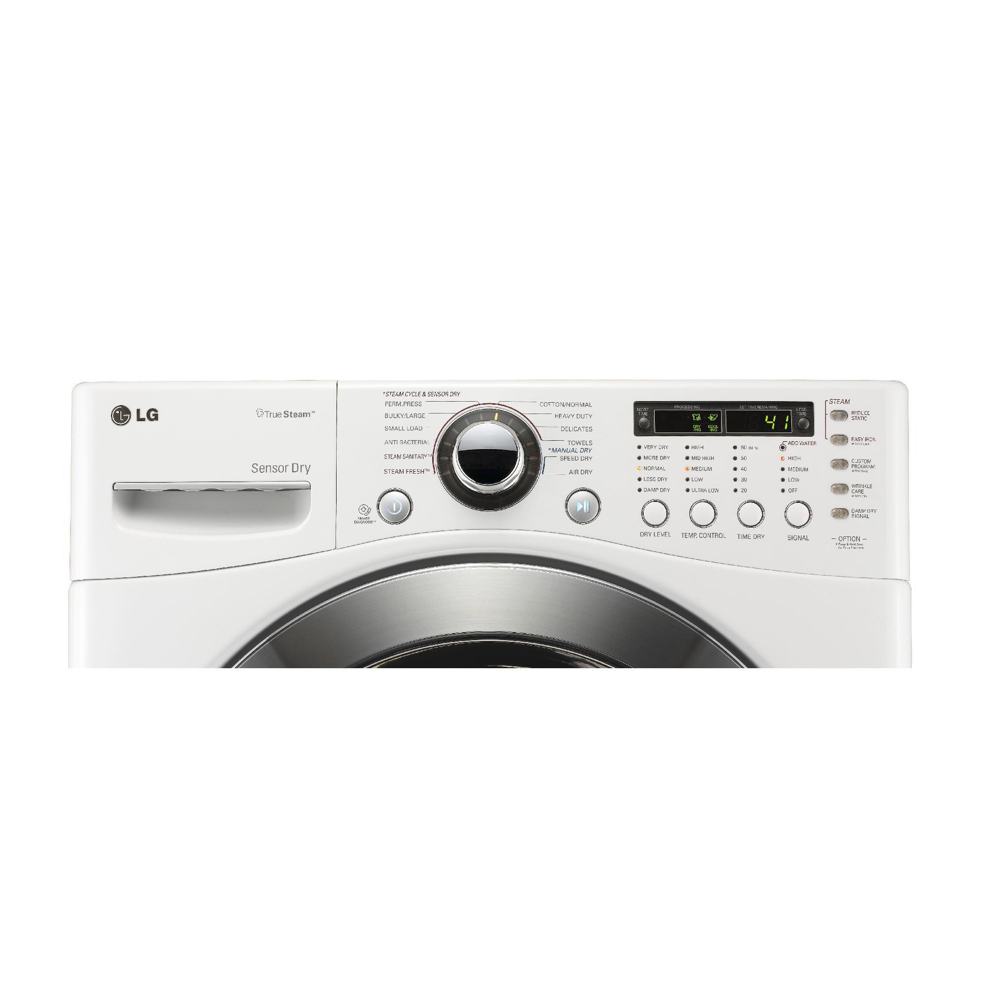 LG 7.4 cu. ft. Gas Dryer - White