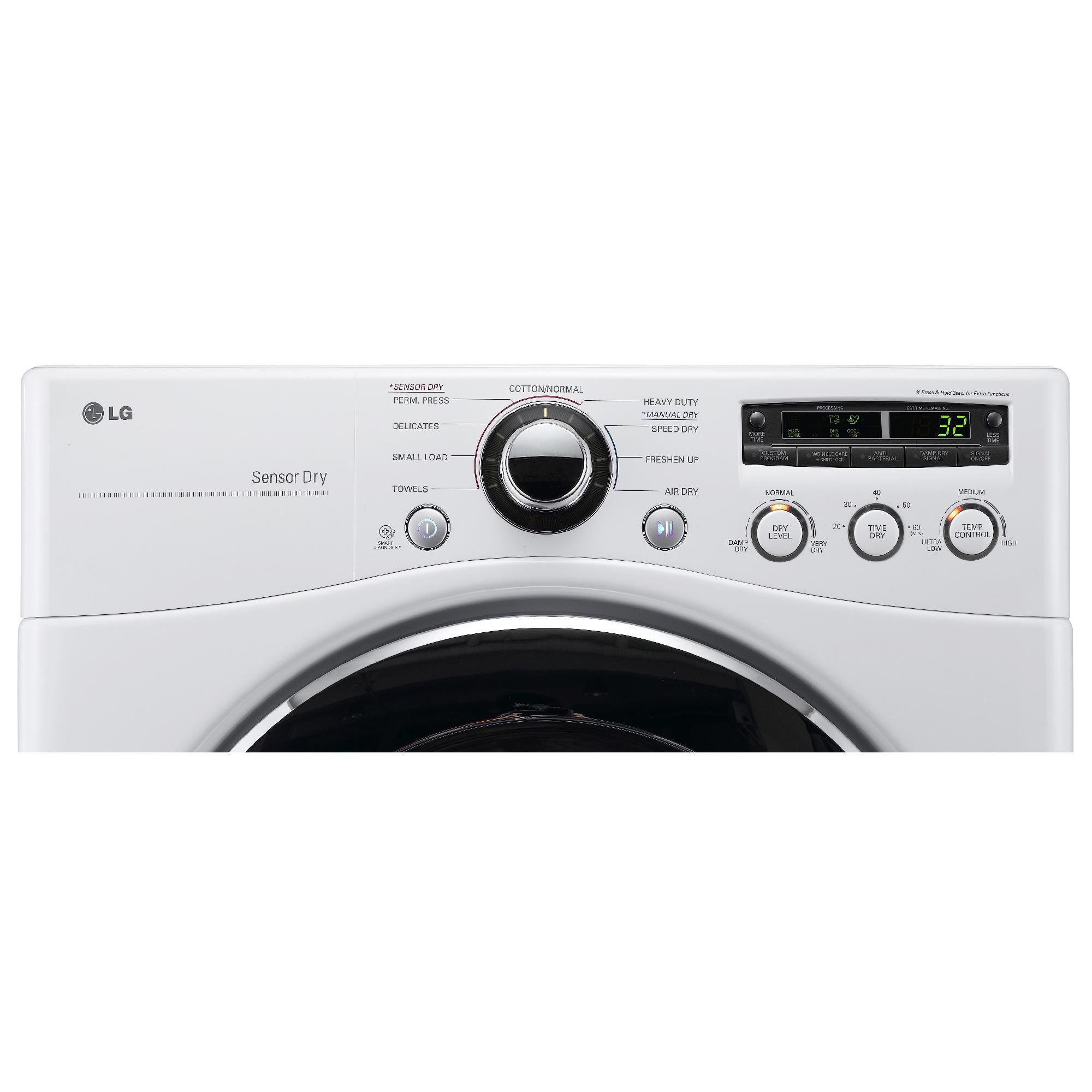 LG 7.3 cu. ft. Electric Dryer - White