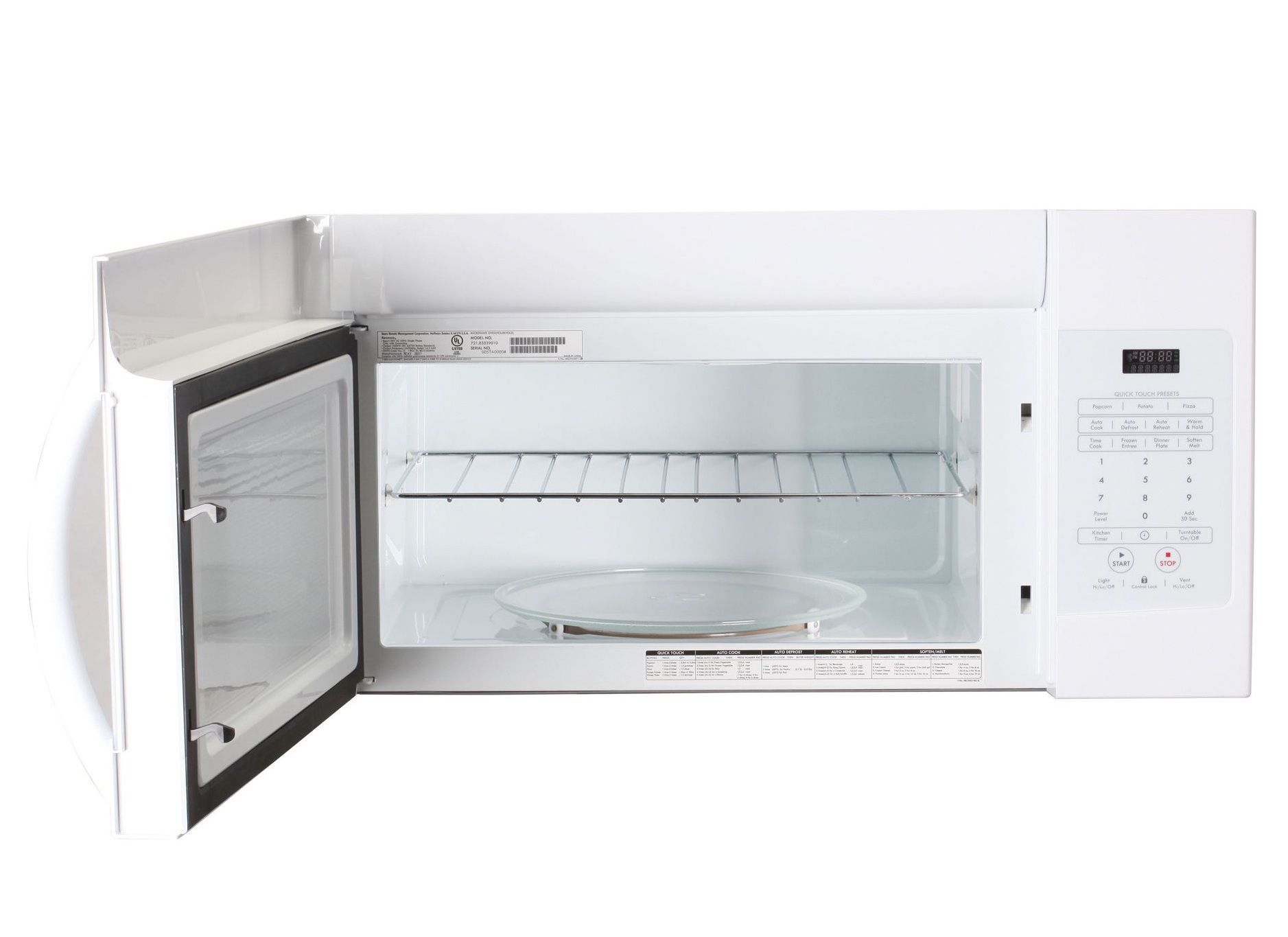"Kenmore 30"" Microhood Combination, White"