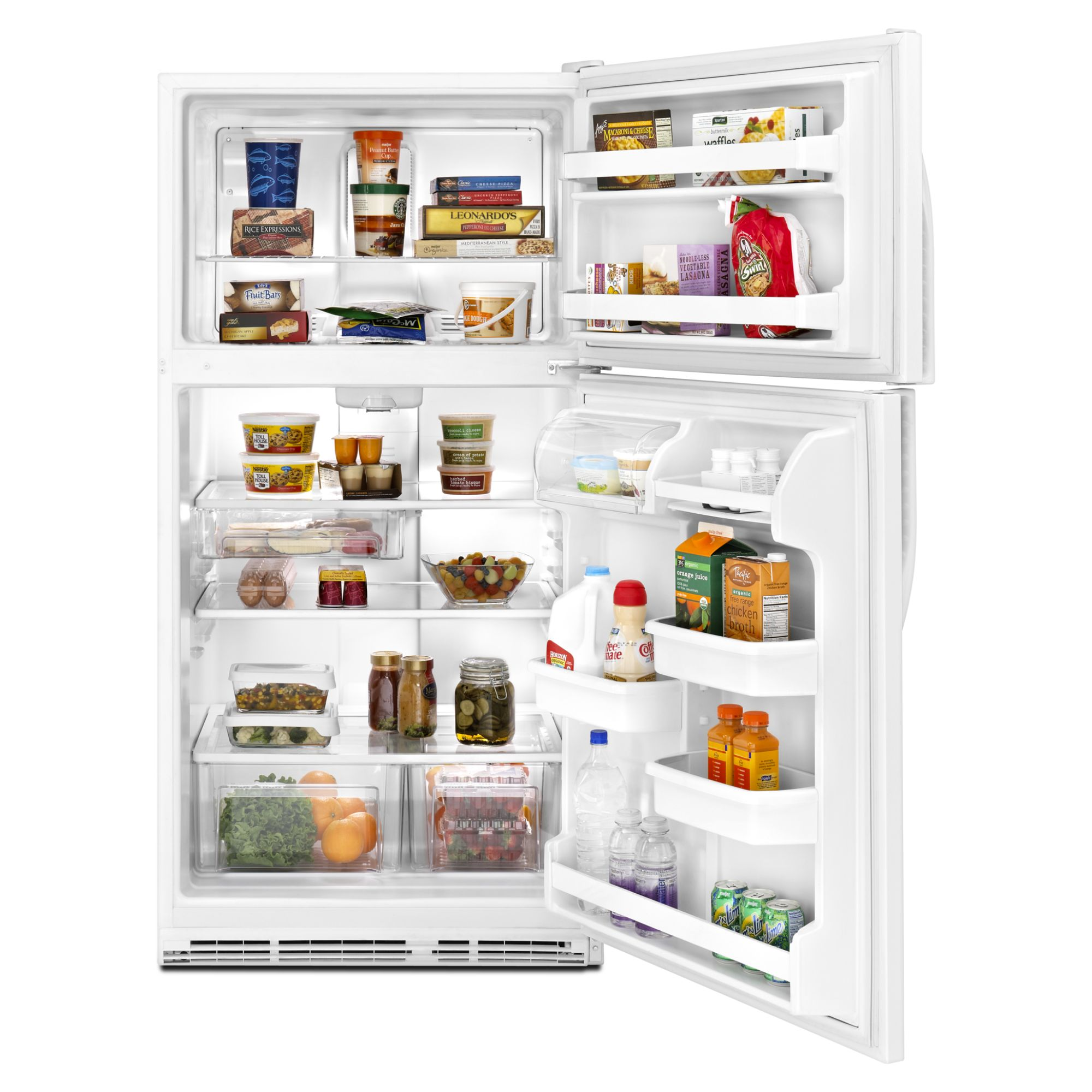 Kenmore 21.0 cu. ft. Top-Freezer Refrigerator, White