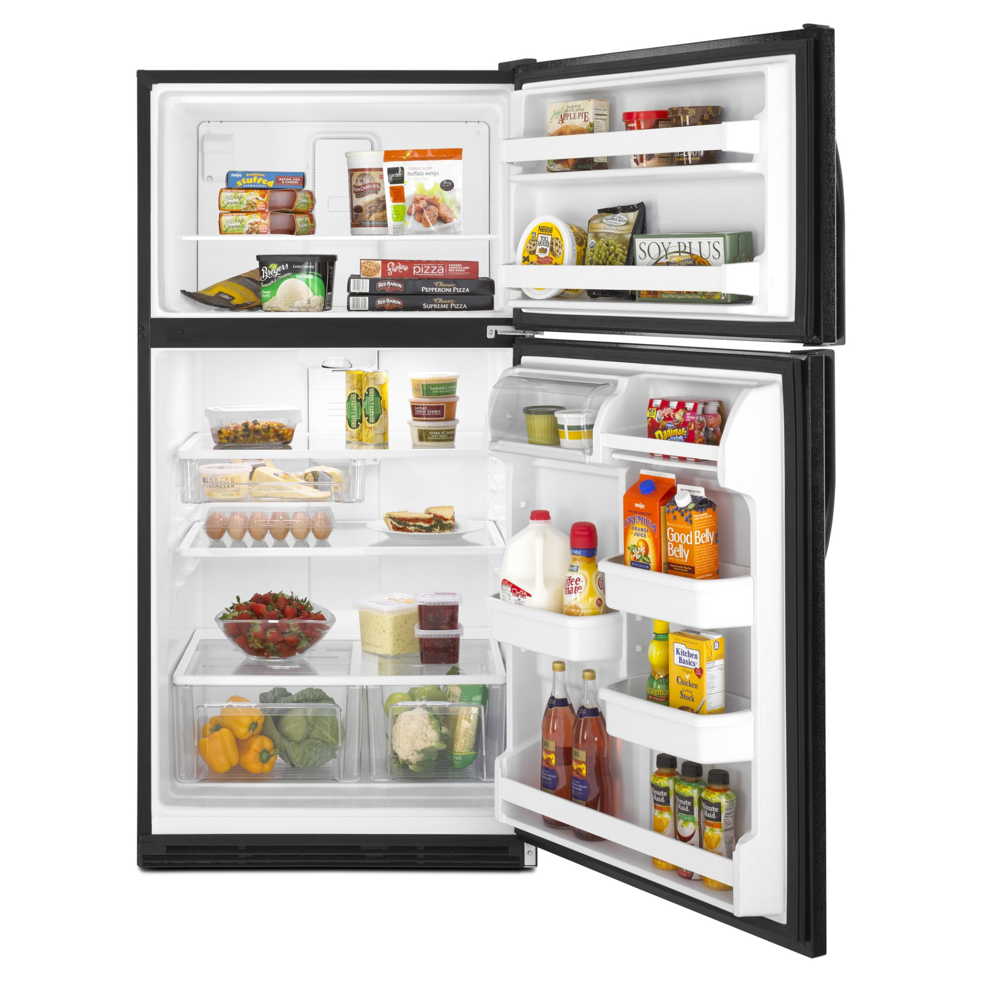 Kenmore 21.0 cu. ft. Top-Freezer Refrigerator, Black