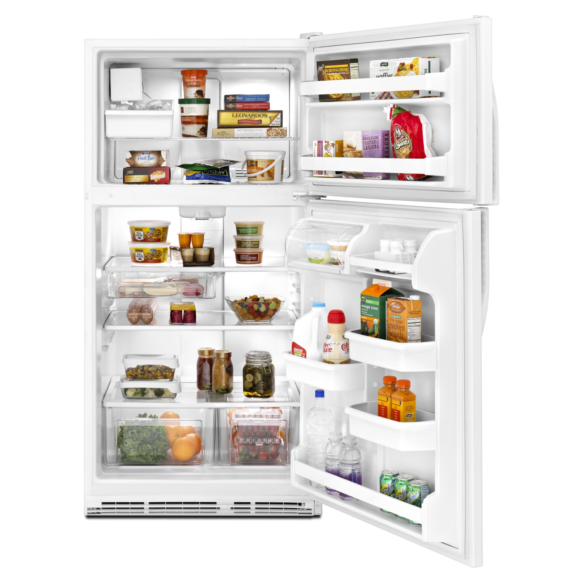 Kenmore 21.0 cu. ft. Top-Freezer Refrigerator w/ Ice Maker - White