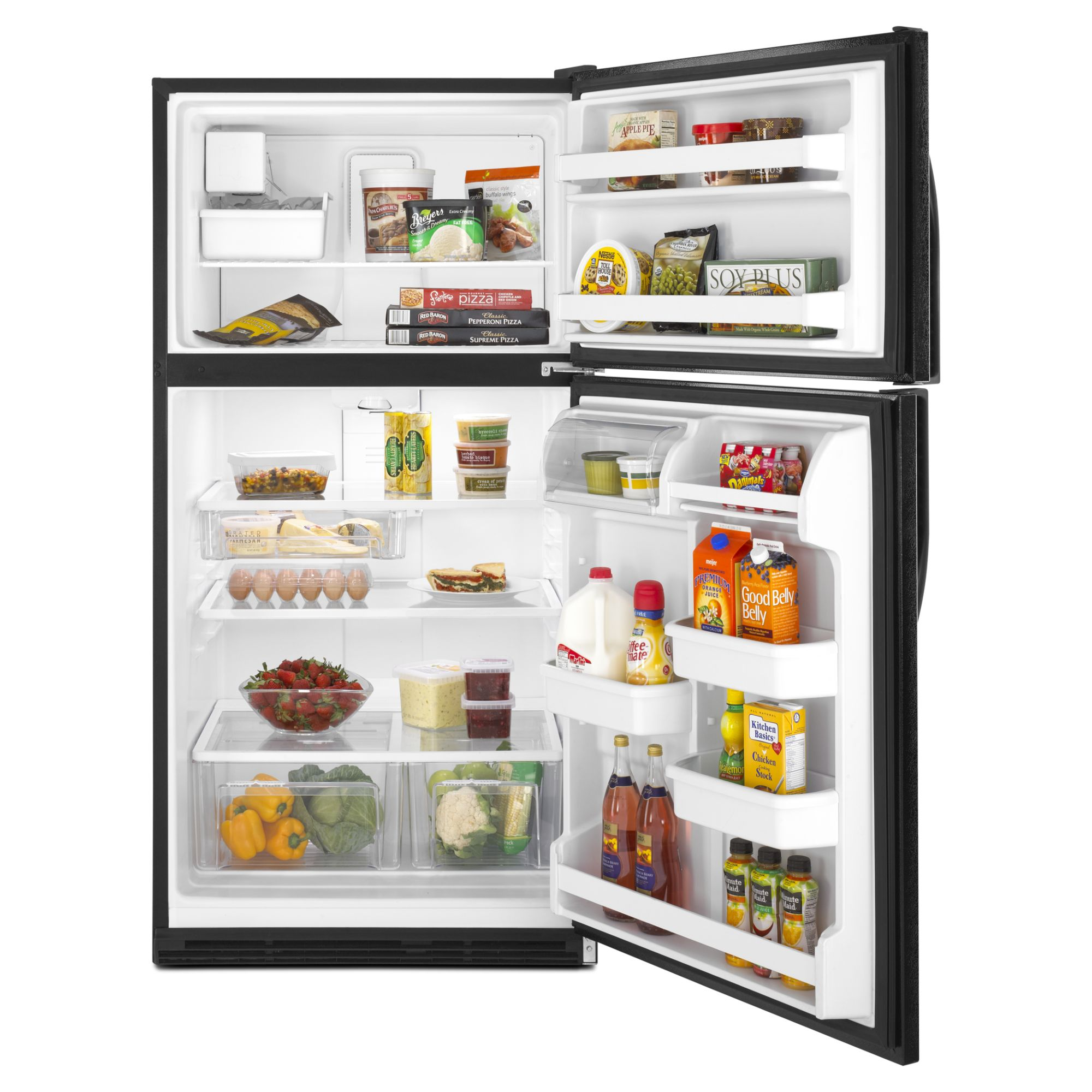 Kenmore 21.0 cu. ft. Top-Freezer Refrigerator w/ Ice Maker - Black
