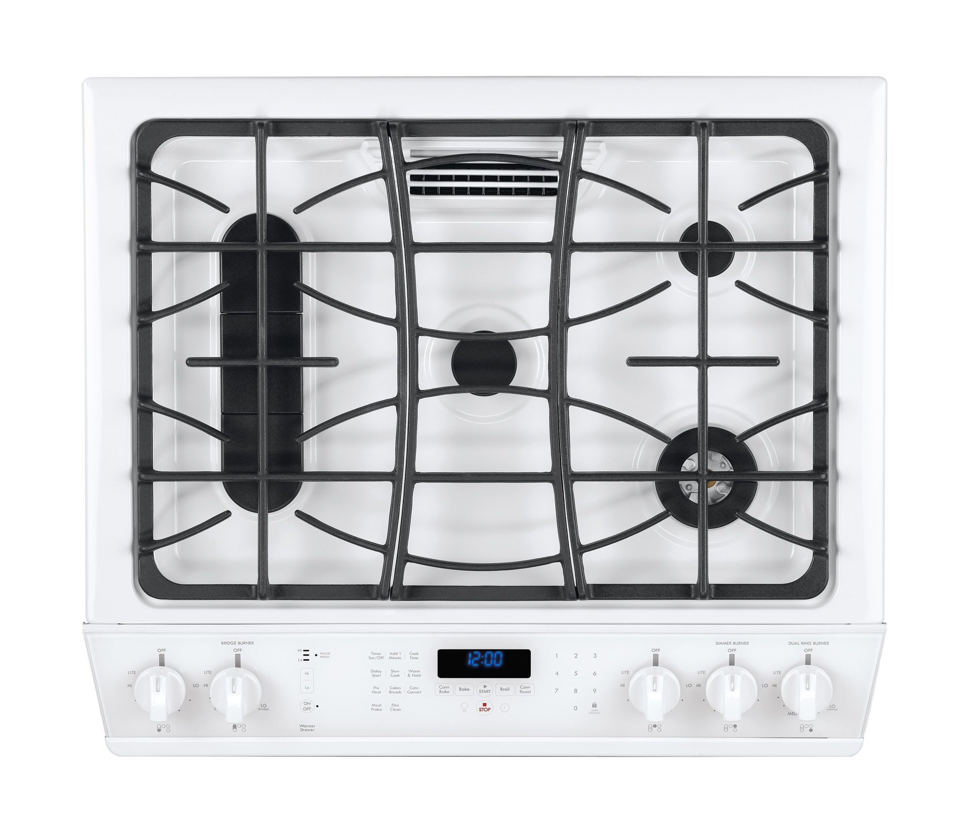 "Kenmore Elite 30"" Slide-In Gas Range - White"