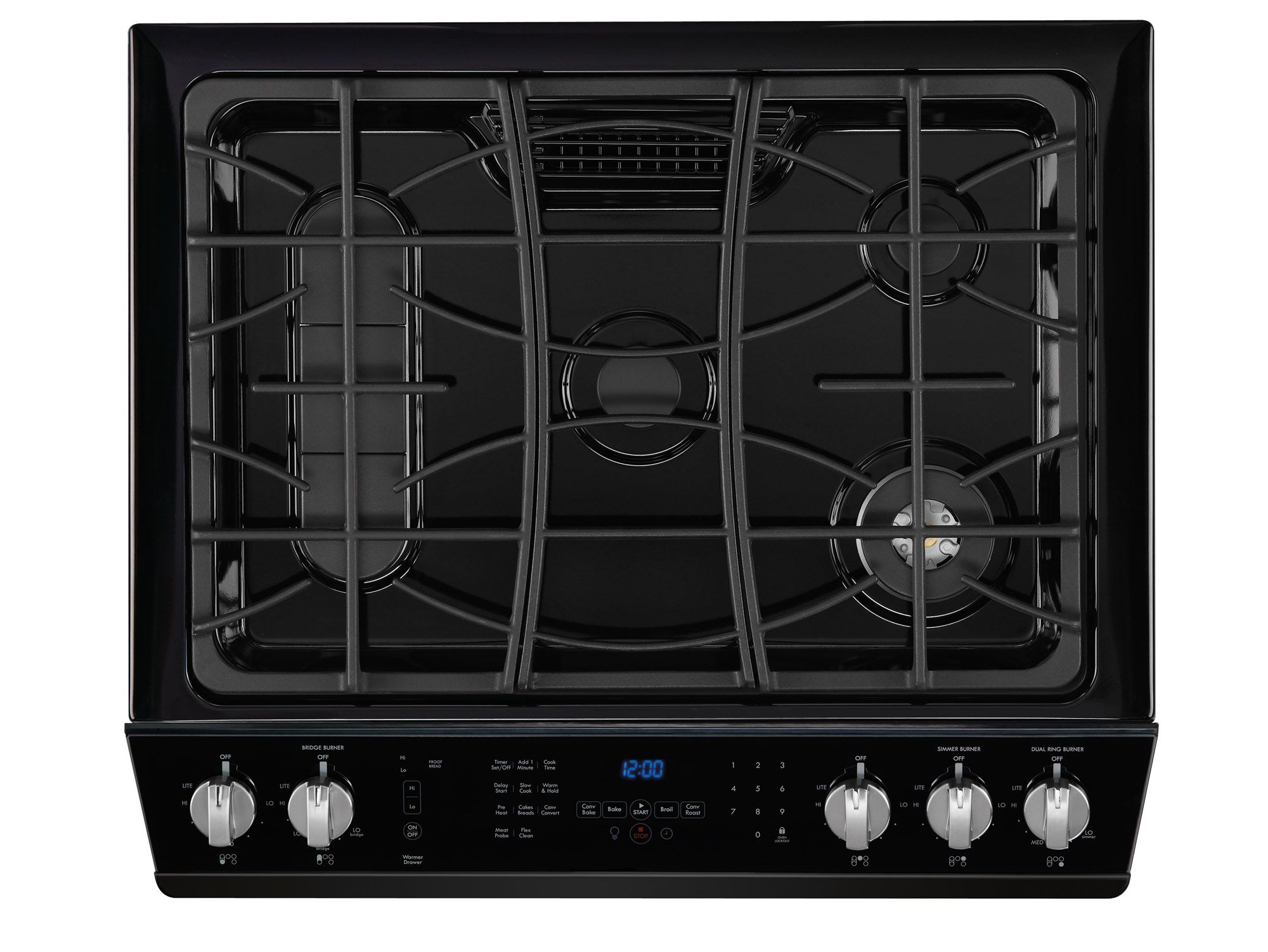 "Kenmore Elite 30"" Slide-In Gas Range Black"
