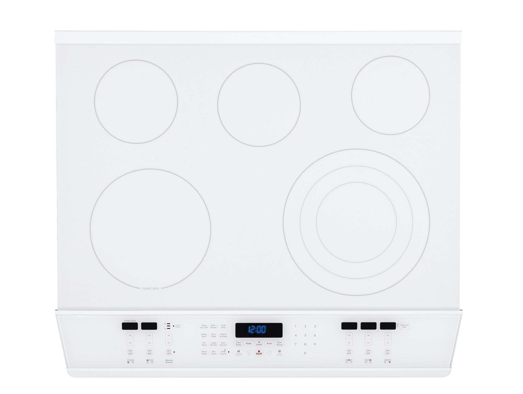 "Kenmore Elite 30"" Slide-In Electric Range White"