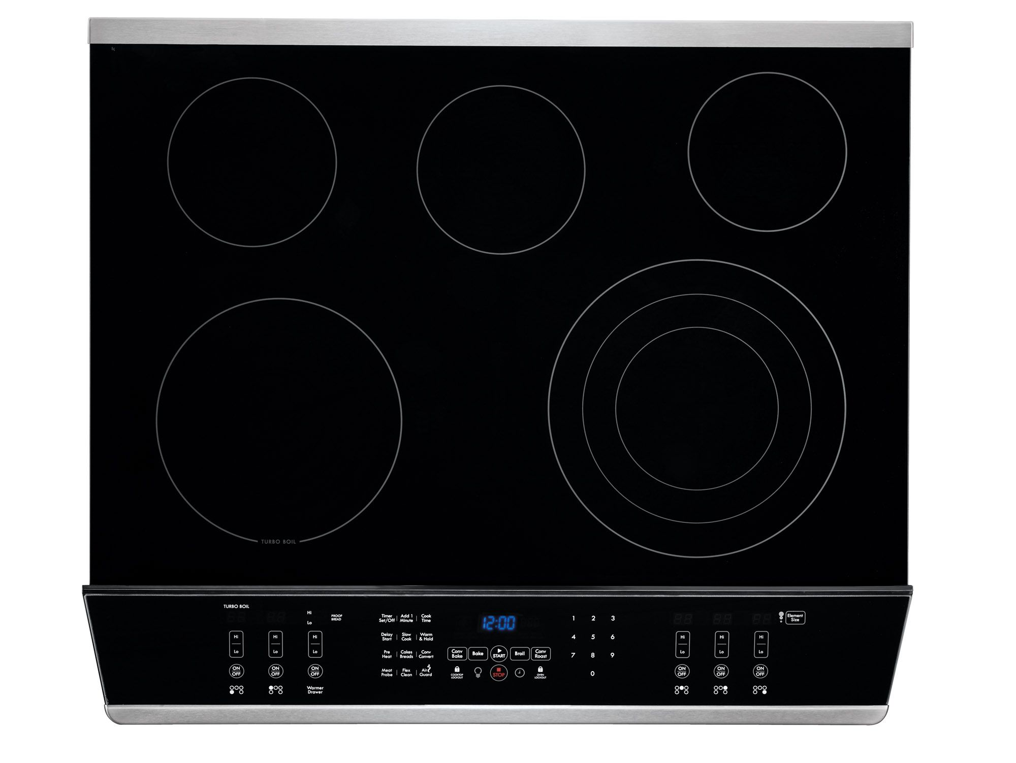 "Kenmore Elite 30"" Slide-In Electric Range - Stainless Steel"