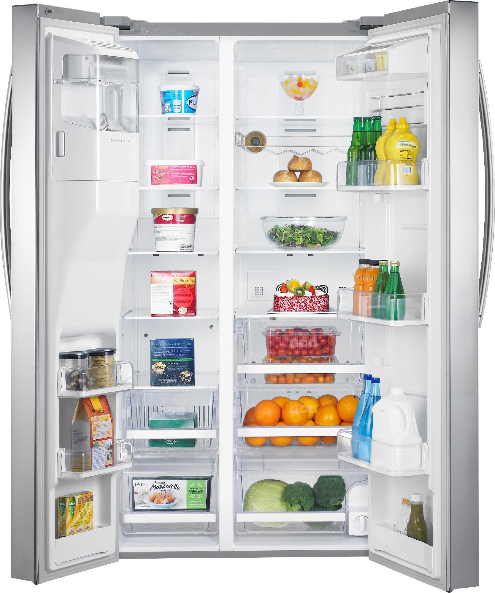 Samsung 29.6 cu. ft. Side-By-Side Refrigerator -Stainless Steel