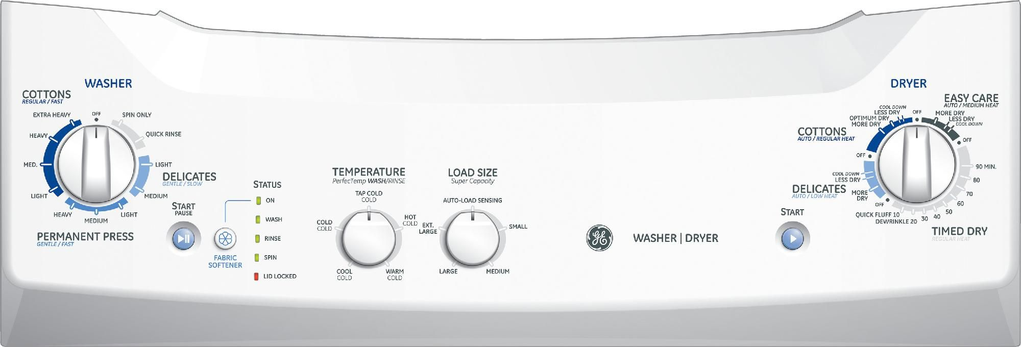 "GE 27""  Laundry Center w/ Electric Dryer"