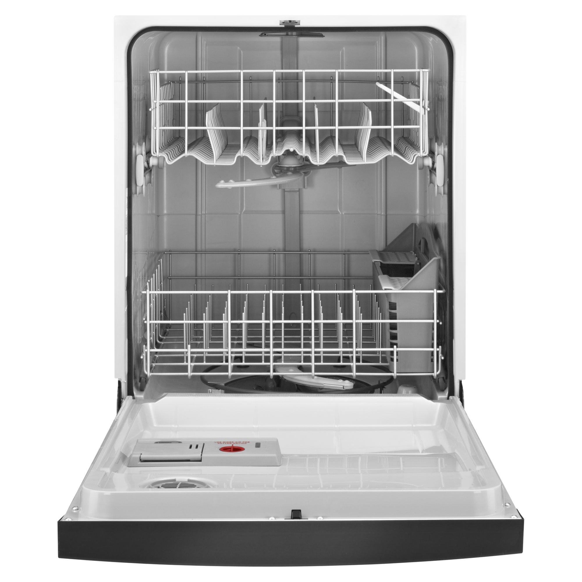 "Kenmore 24"" Built-In Dishwasher w/ Sani-Rinse™ - Black"