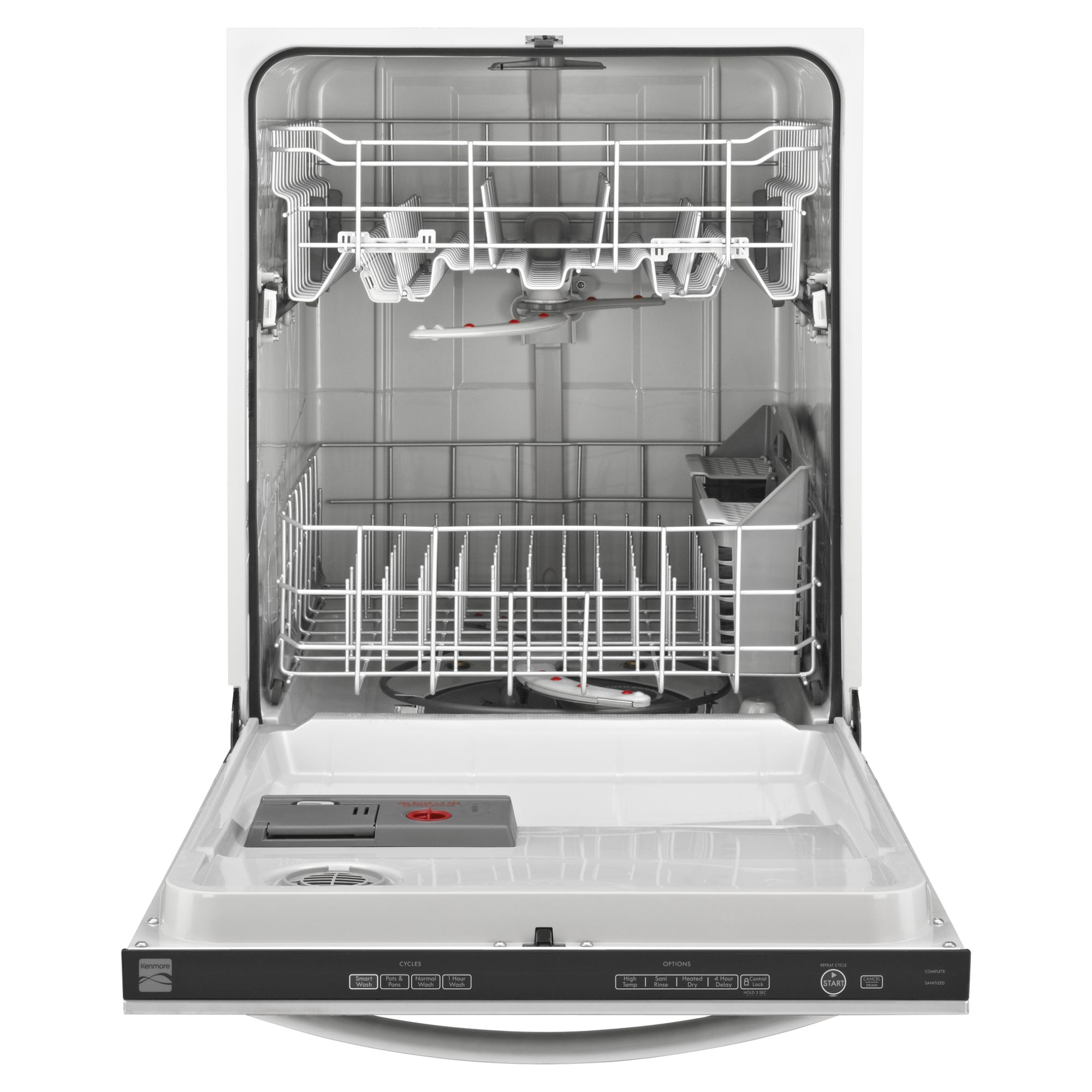 "Kenmore 24"" Built-In Dishwasher - Stainless Steel"