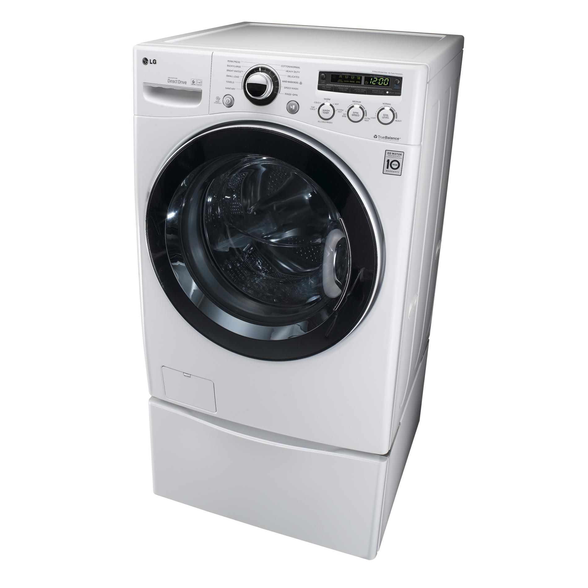 LG Front-load Washing Machine 4.3 cubic feet