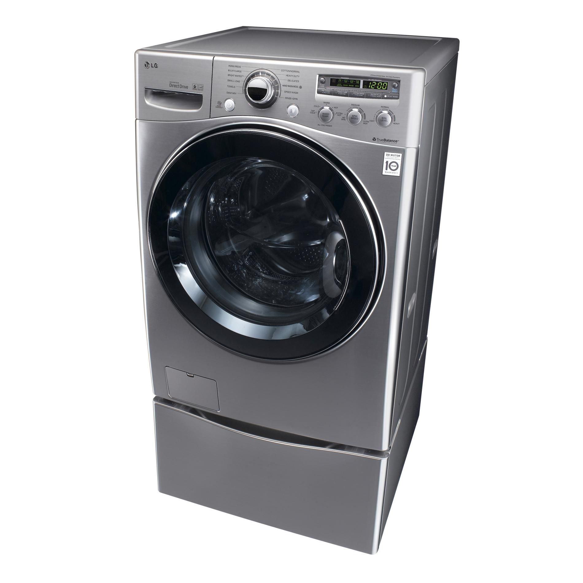 LG 4.3 cu. ft. Ultra-Large Capacity Front-Load Washer w/ ColdWash™ Technology - Graphite Steel