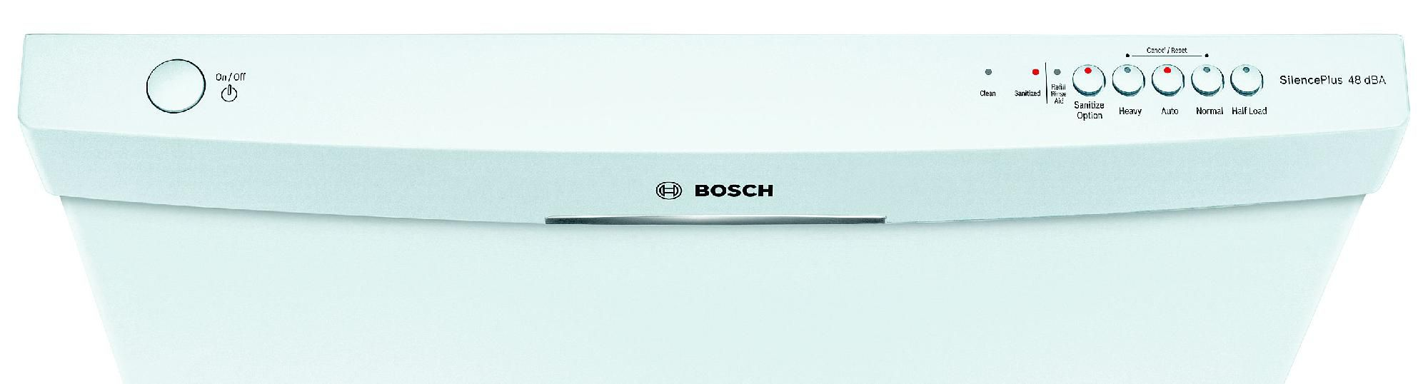 "Bosch 24"" Built-In Dishwasher - White"
