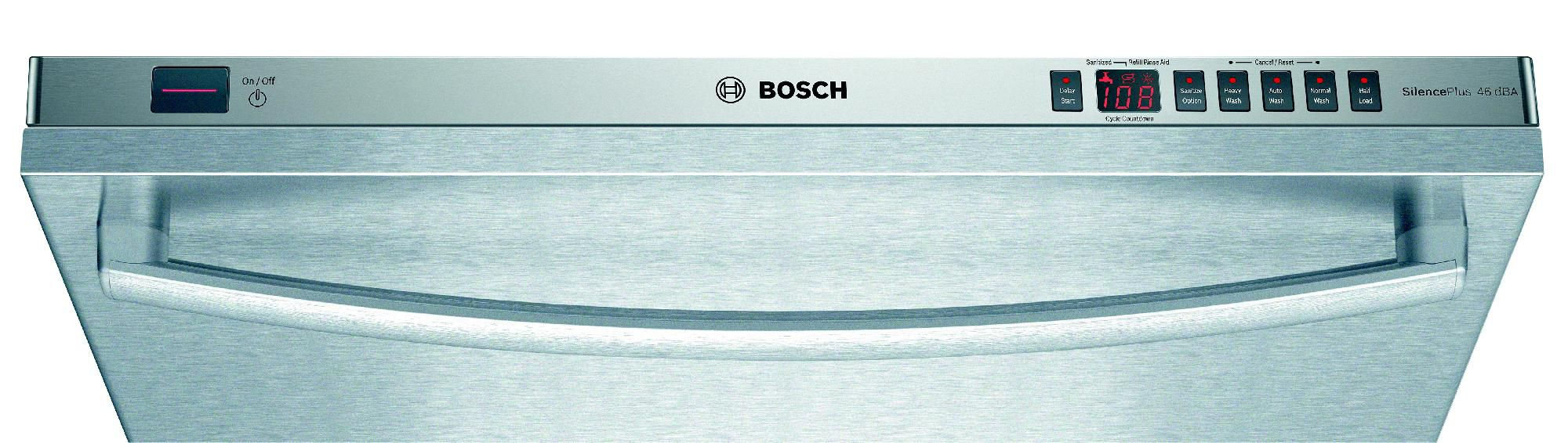 "Bosch 24"" Built-In Dishwasher Stainless Steel"
