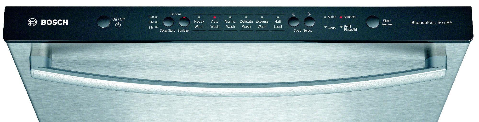 "Bosch 24"" Built-In Dishwasher - Stainless Steel"