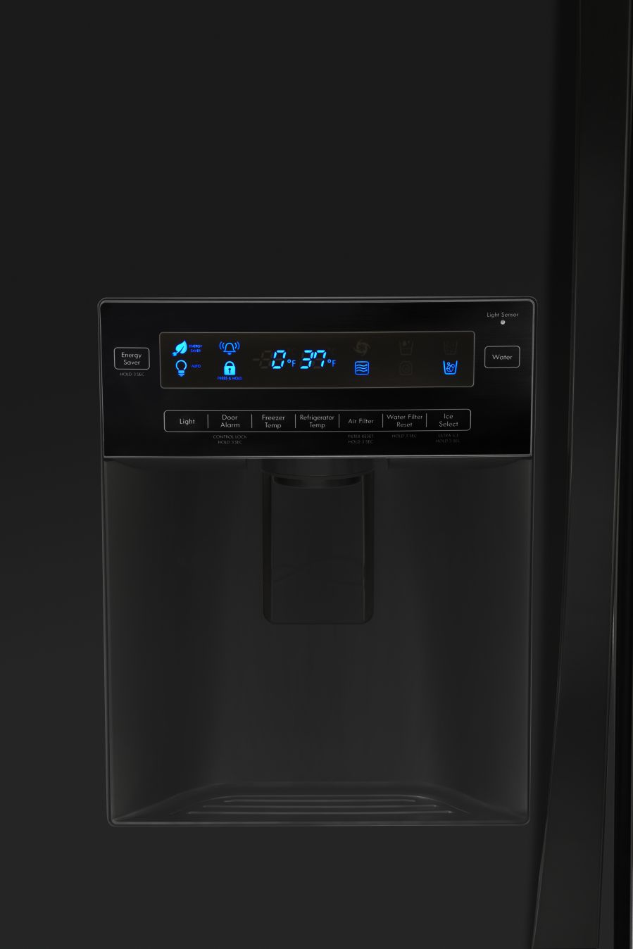 Kenmore Elite 31.0 cu. ft. French Door Bottom-Freezer Refrigerator- Black