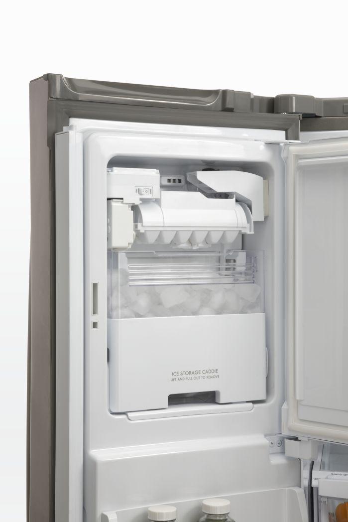 Kenmore 24.7 cu. ft. French-Door Bottom-Freezer Refrigerator Black
