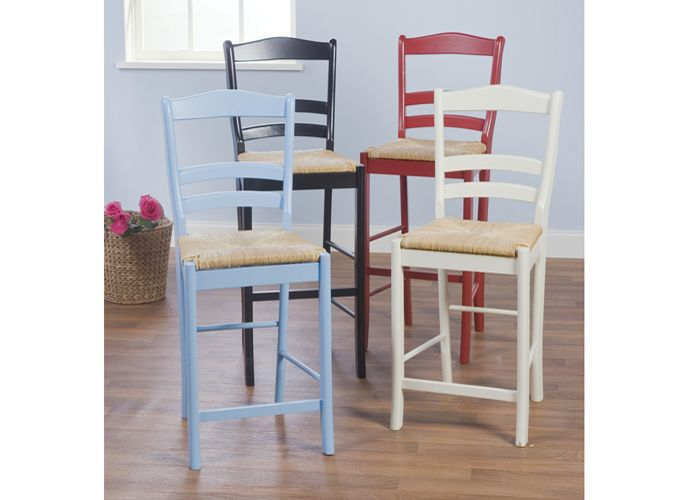 "TMS 30"" Paloma barstool in red"