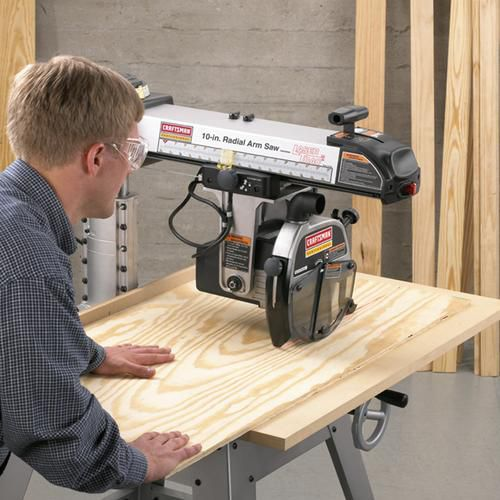 "Craftsman Professional 3 hp 10"" Radial Arm Saw with LaserTrac ™ 22010"