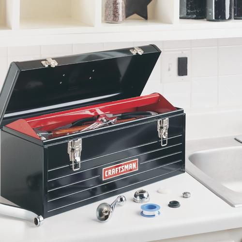 "Craftsman 20"" Metal Hand Box"