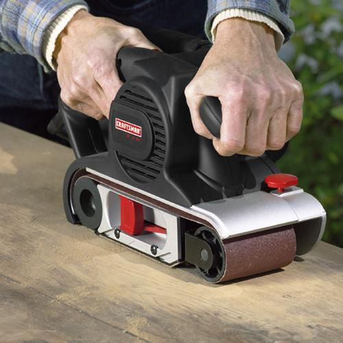 Craftsman 3 x 21 in. Belt Sander, 8 amp